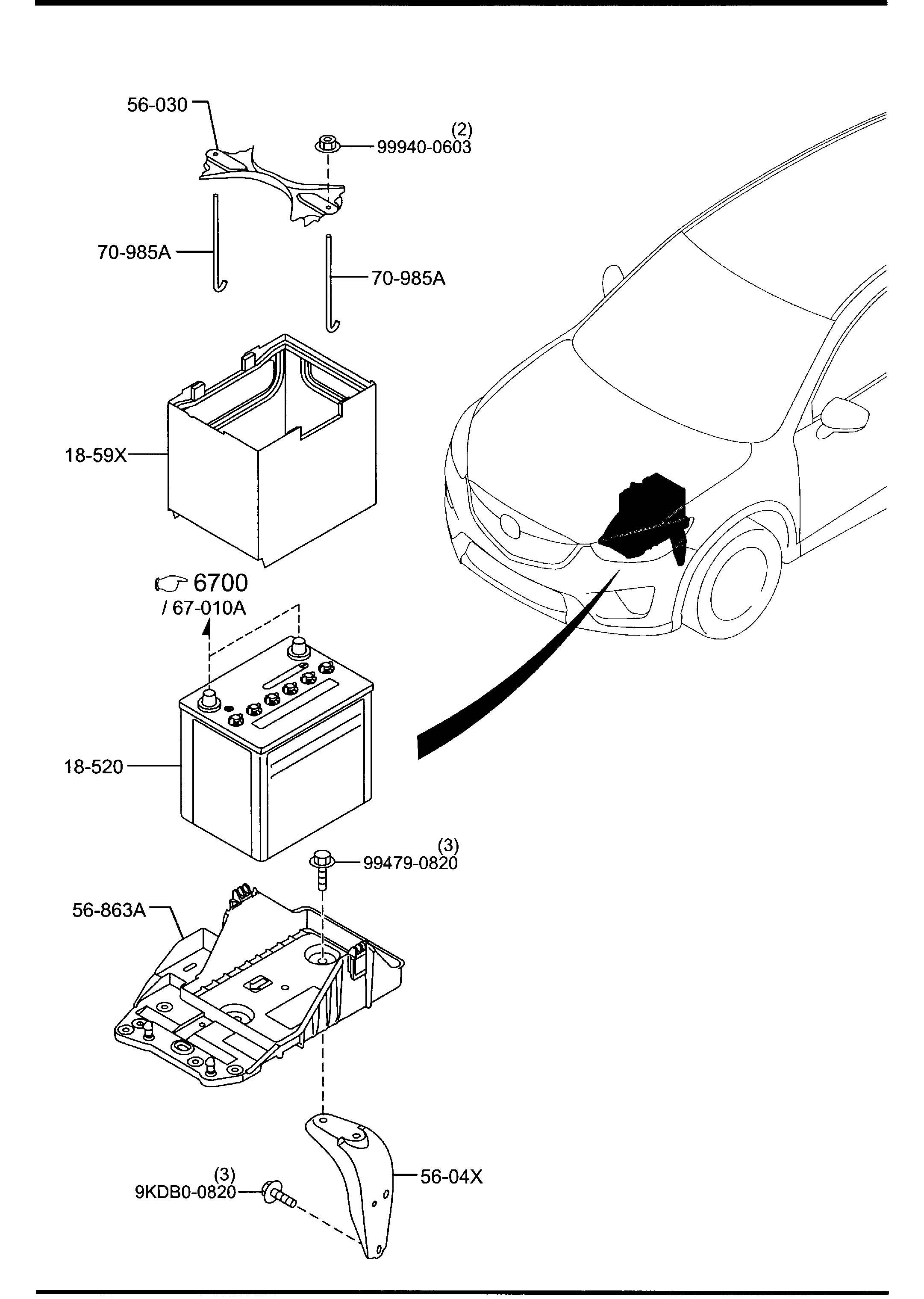 Mazda Cx 5 Battery Panasonic Selection Supplier