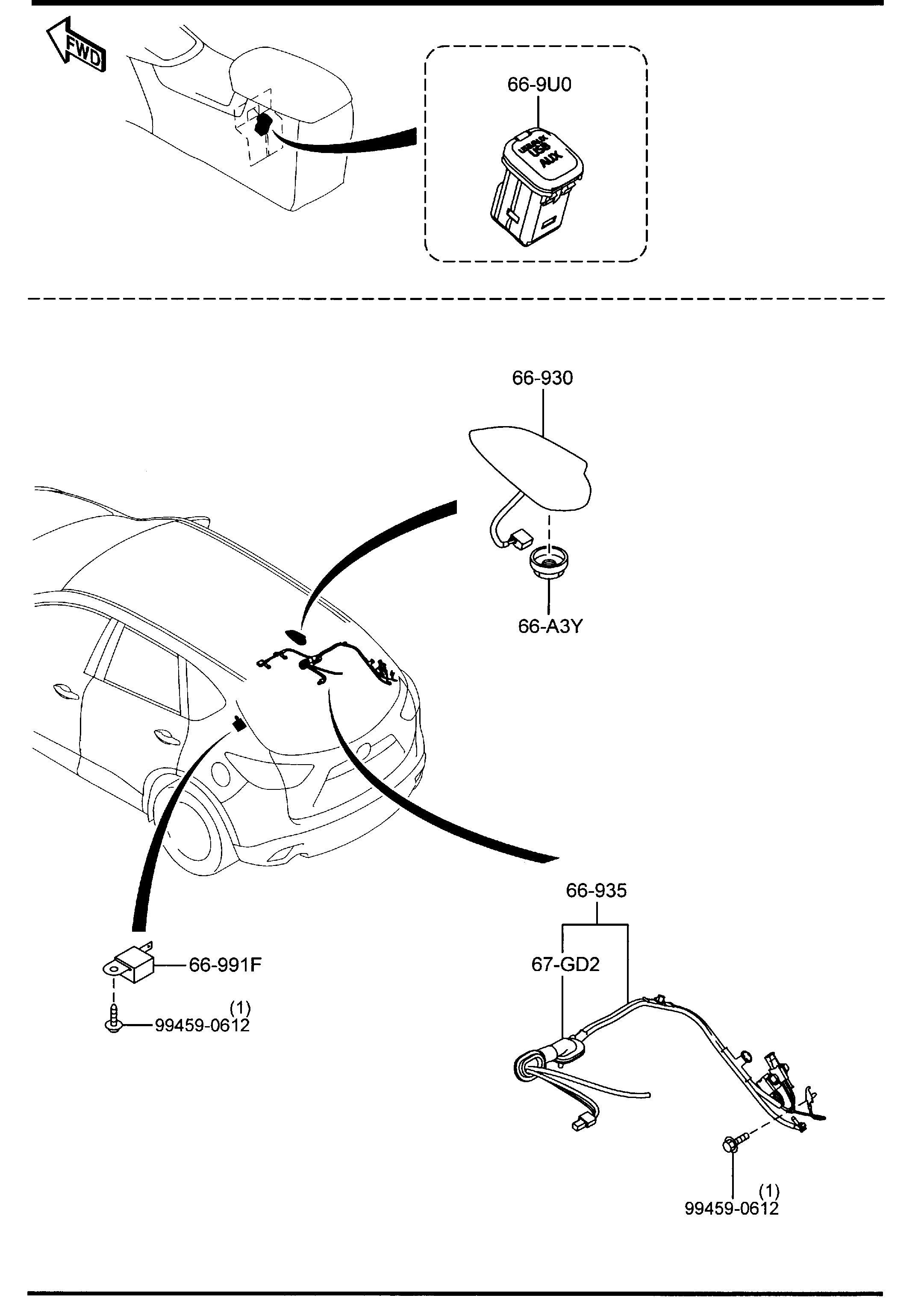 Mazda Cx 5 Amplifier Power