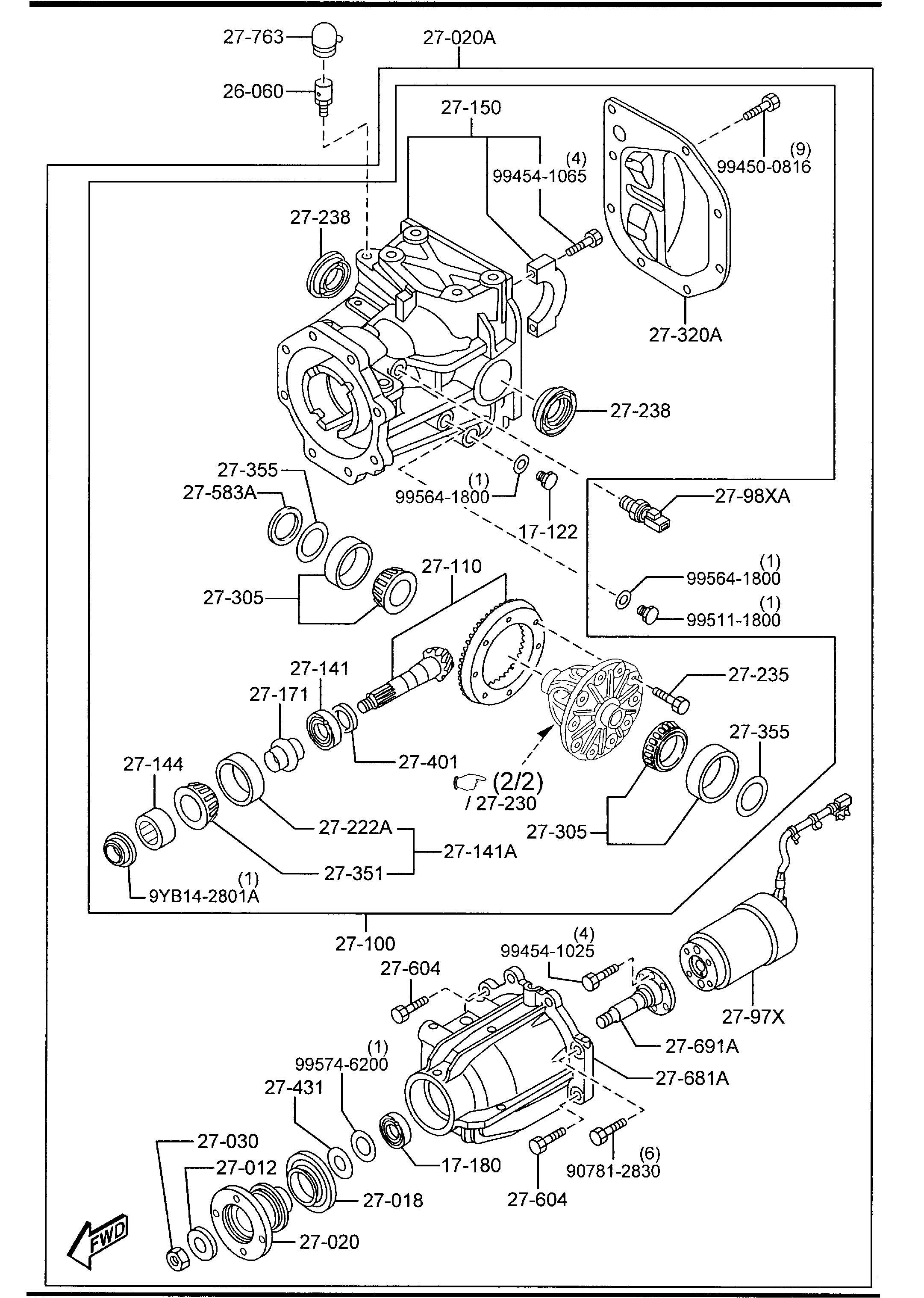 Mazda Cx 9 Parts Diagram