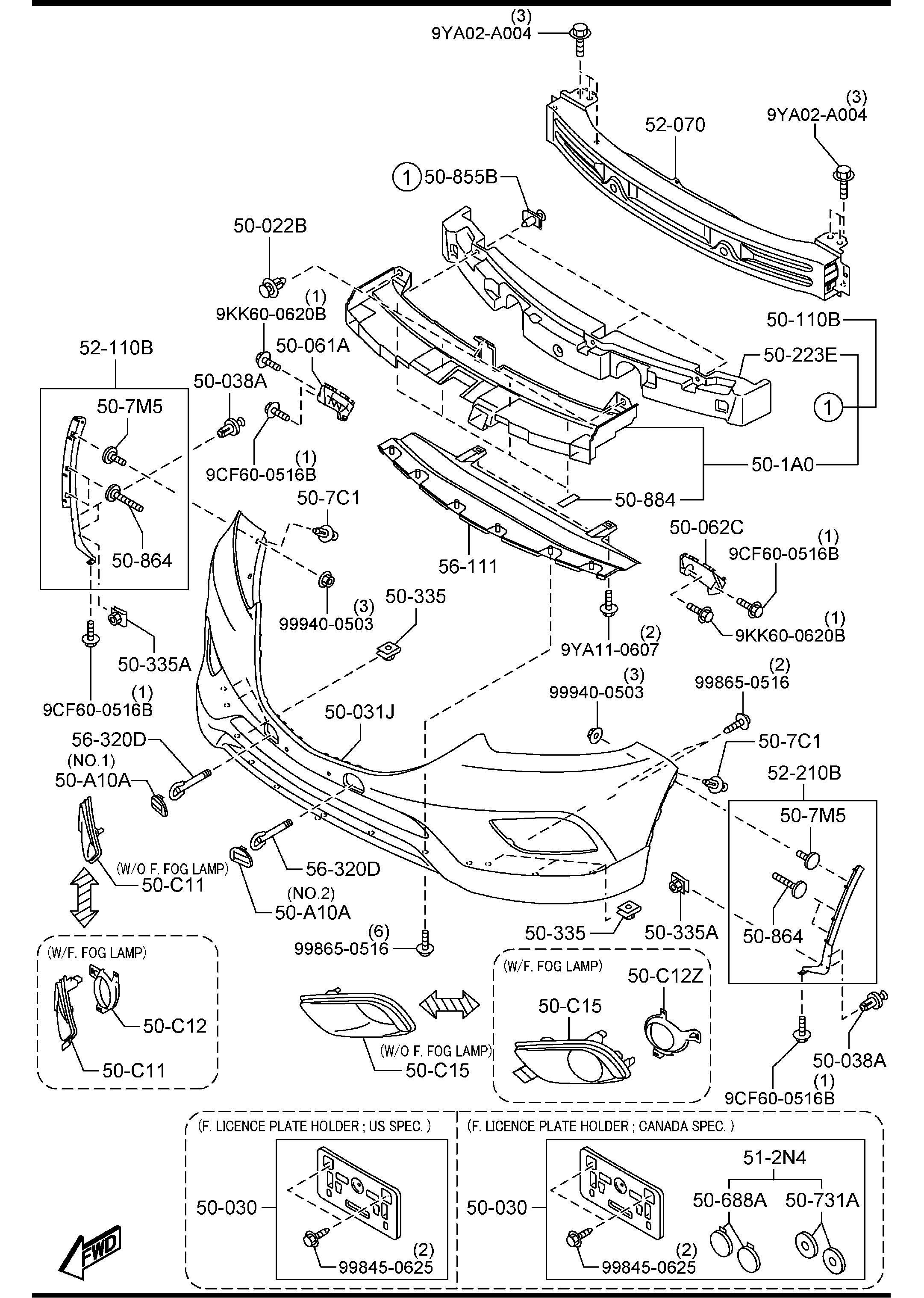 Mazda Cx 9 Fuse Box Diagrams