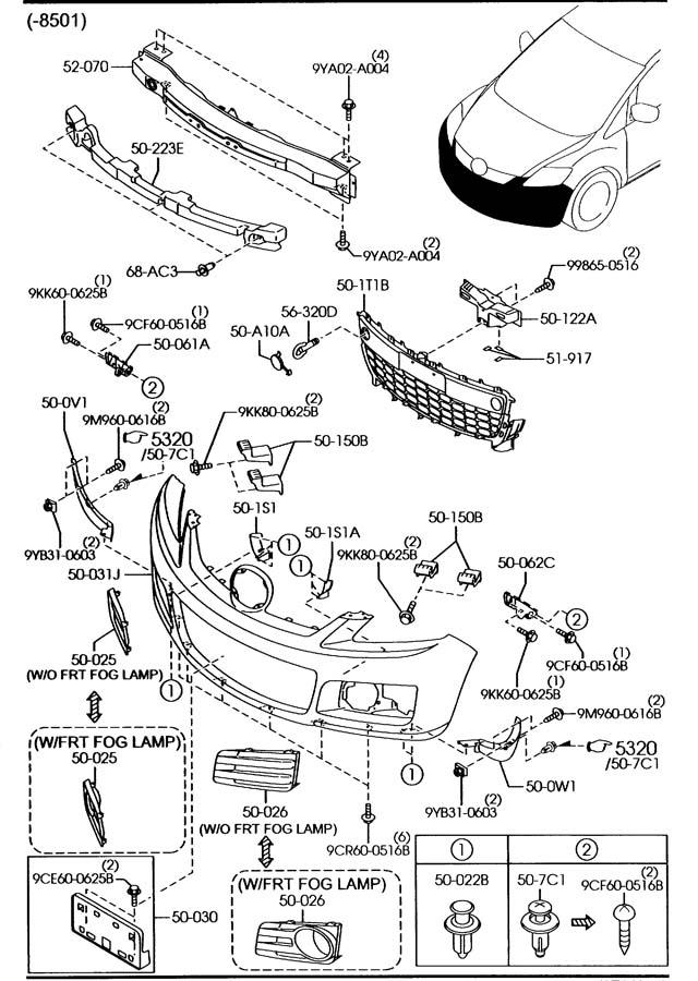 Diagram 2007 Mazda 6 Fuse Box Cover