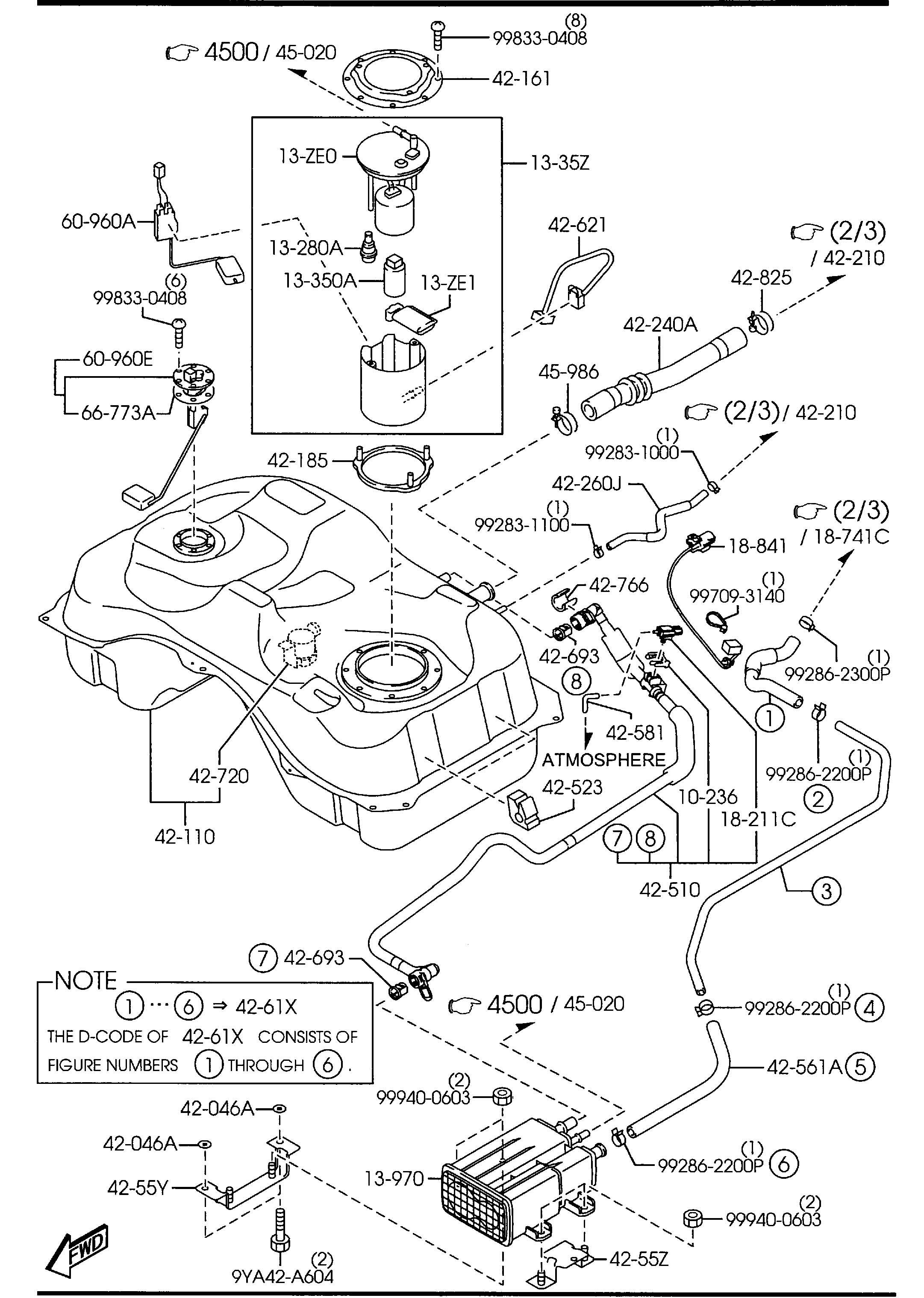 Mazda Cx 7 Tank Fuel