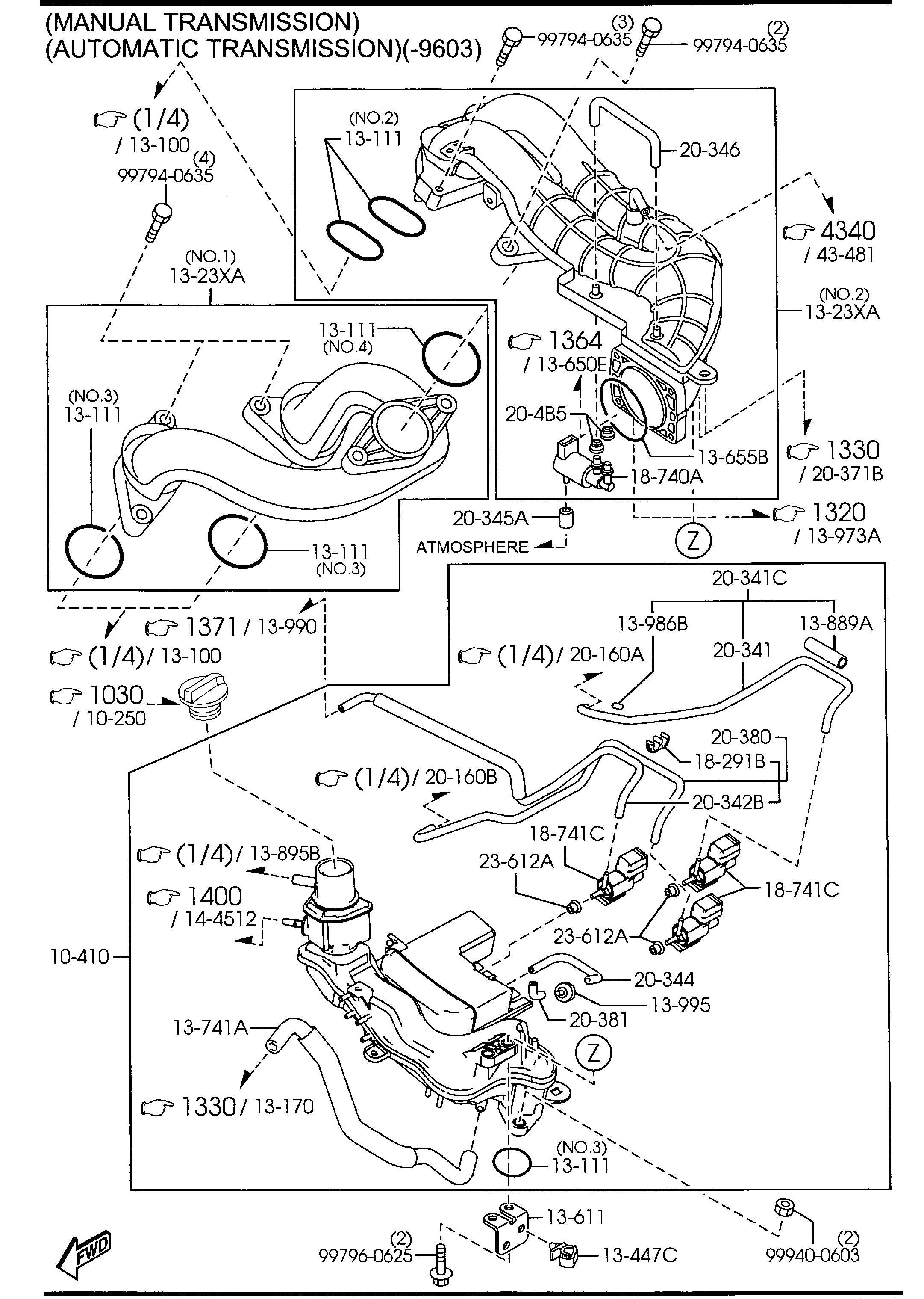 Mazda Rx 8 Valve Solenoid Solenoido Vdi