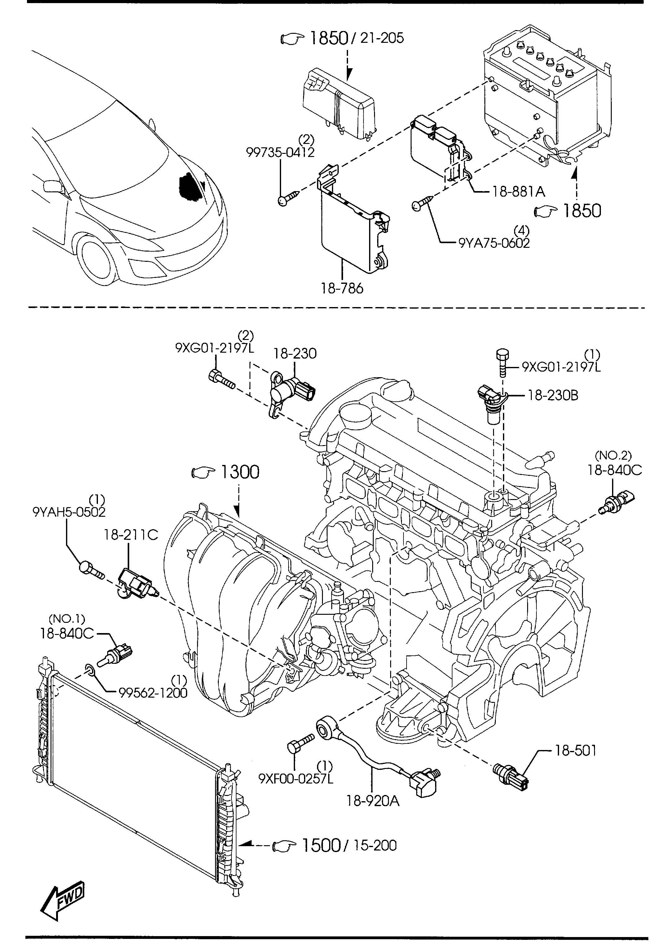 Mazda Mazda 3 Module Pwtnt