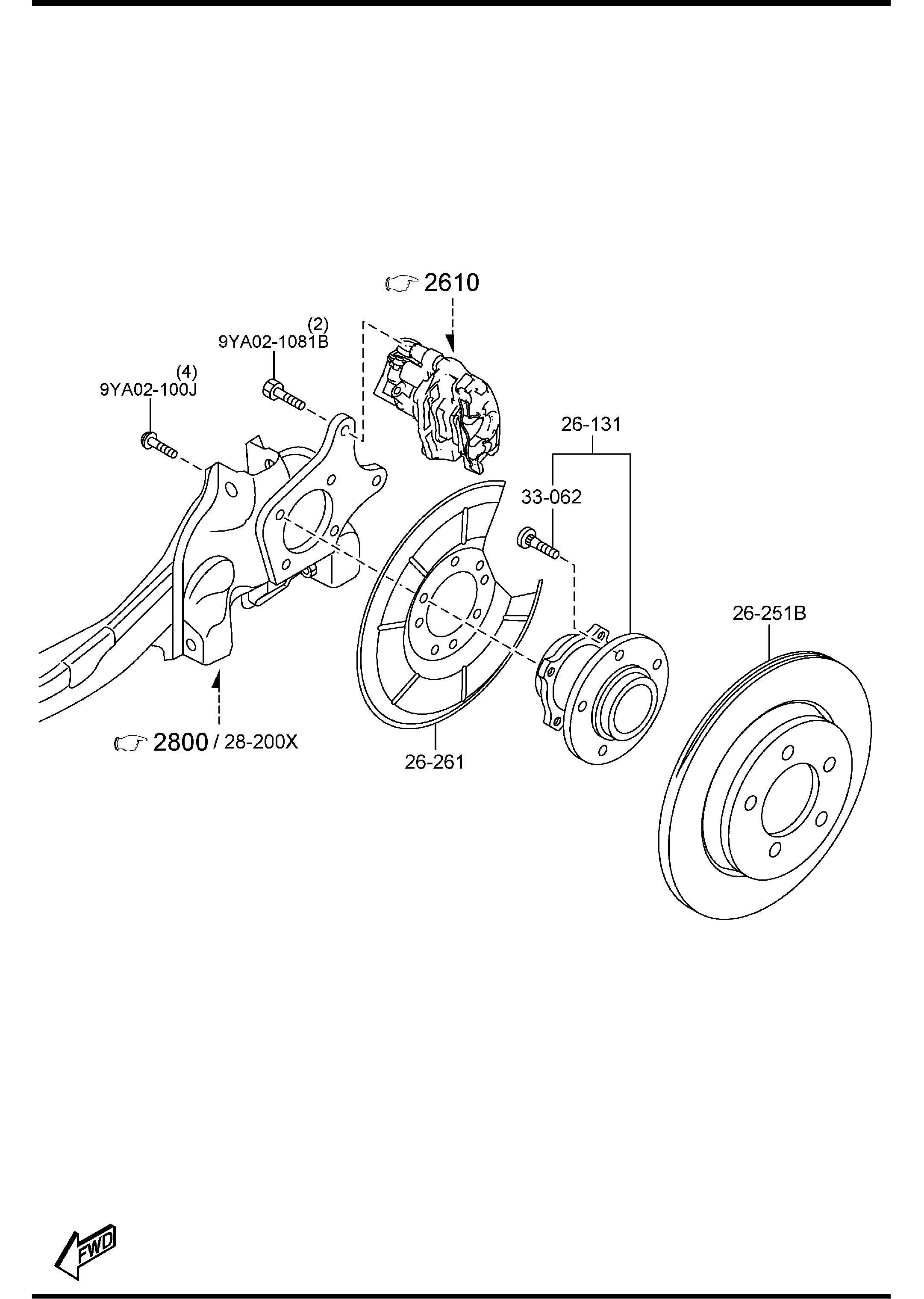 Mazda Mazda 3 Plate Disc Rotors