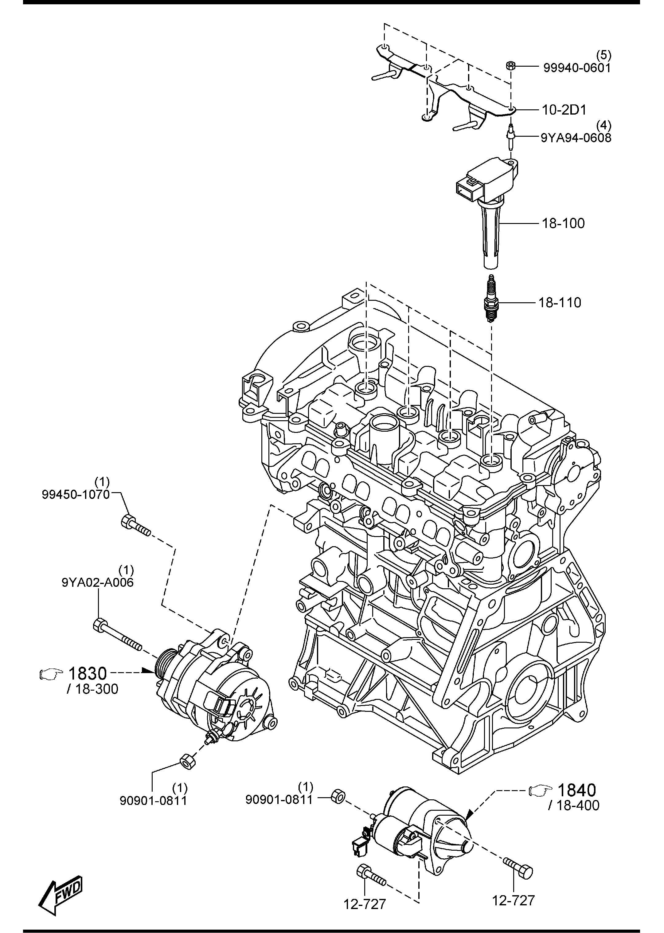 Mazda Mazda 3 Plug Spark Ngk Supplier Selection Denso