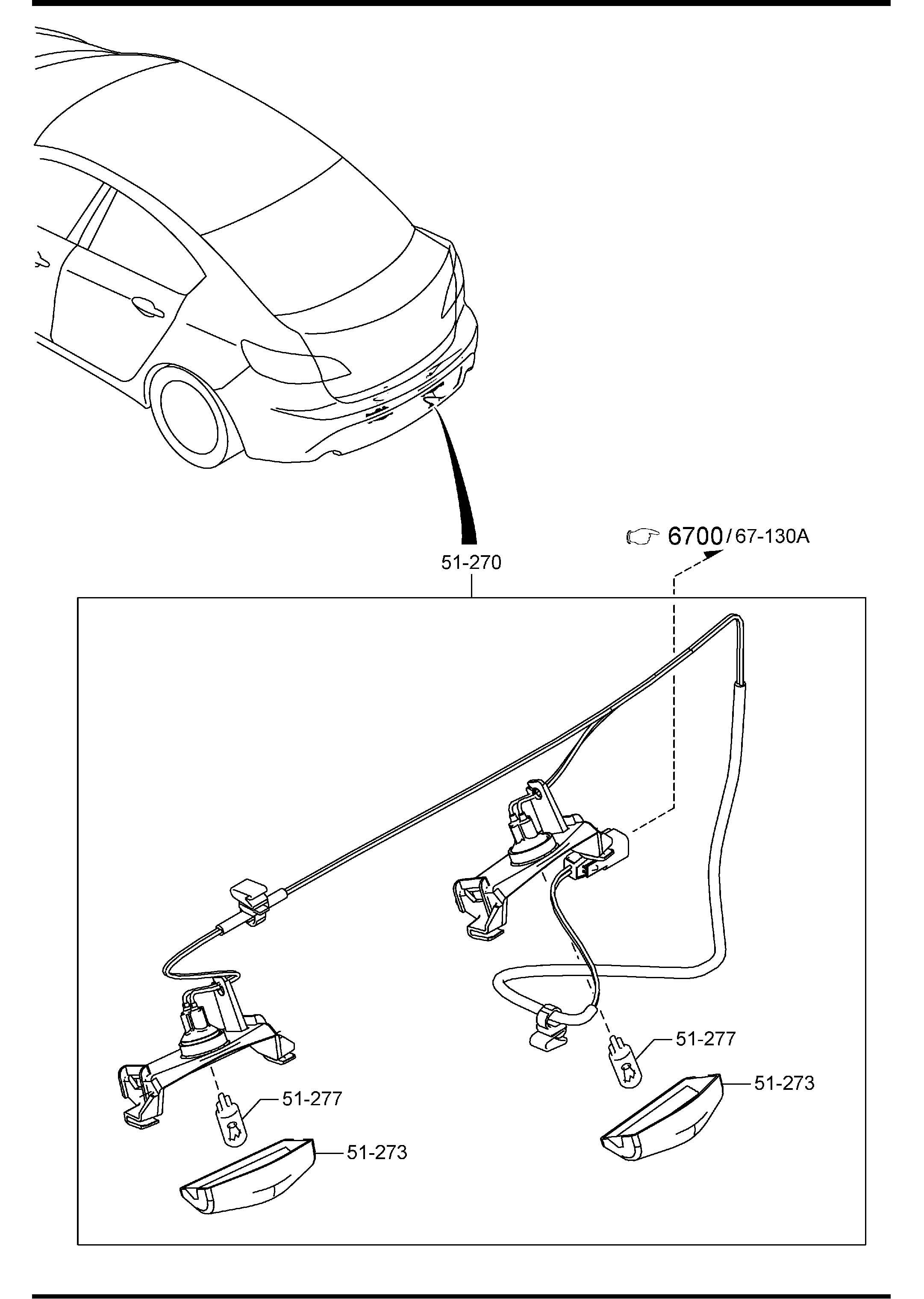 Mazda Mazda 3 Lamp License