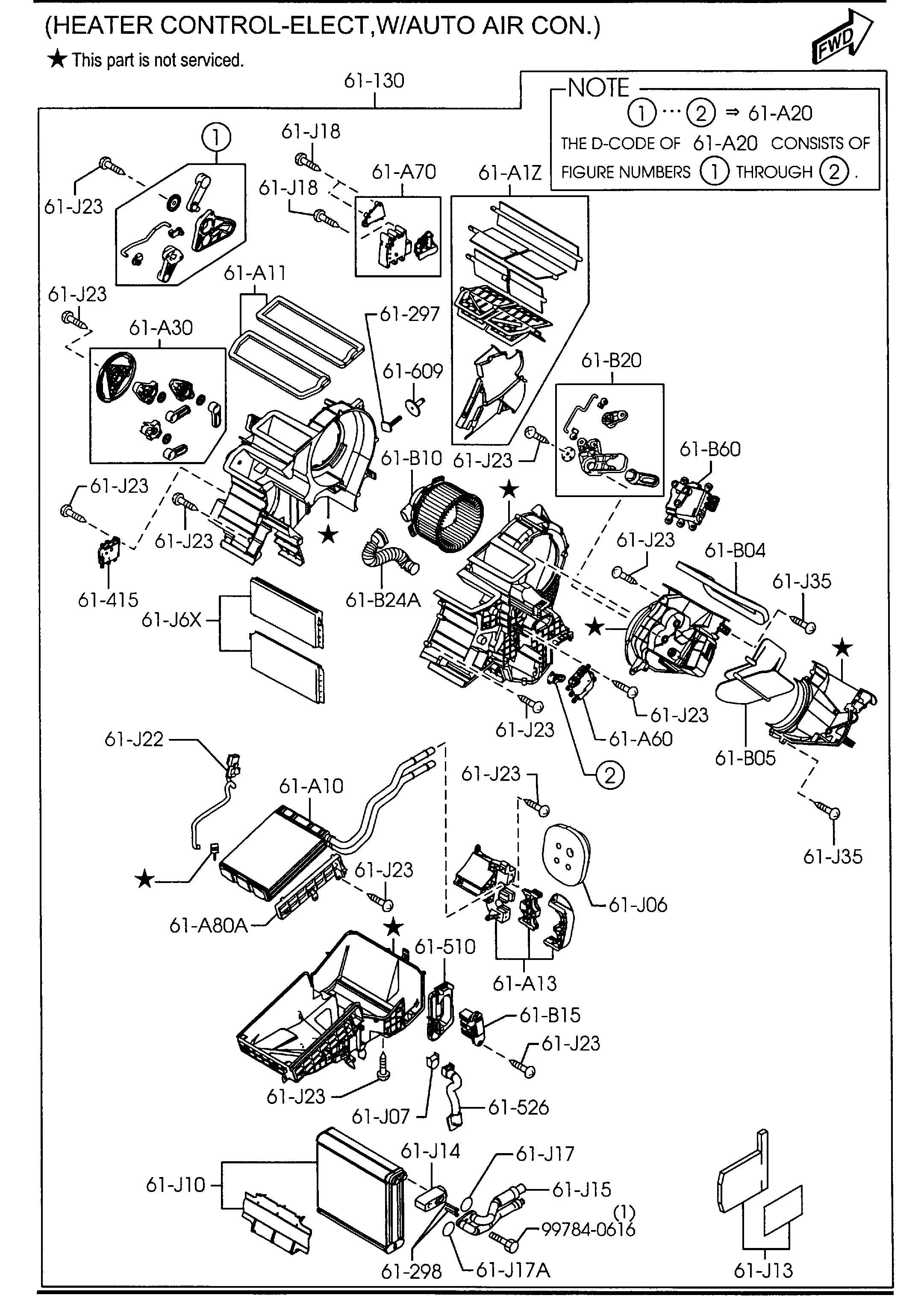 1999 Mazda B2500 Engine Diagram