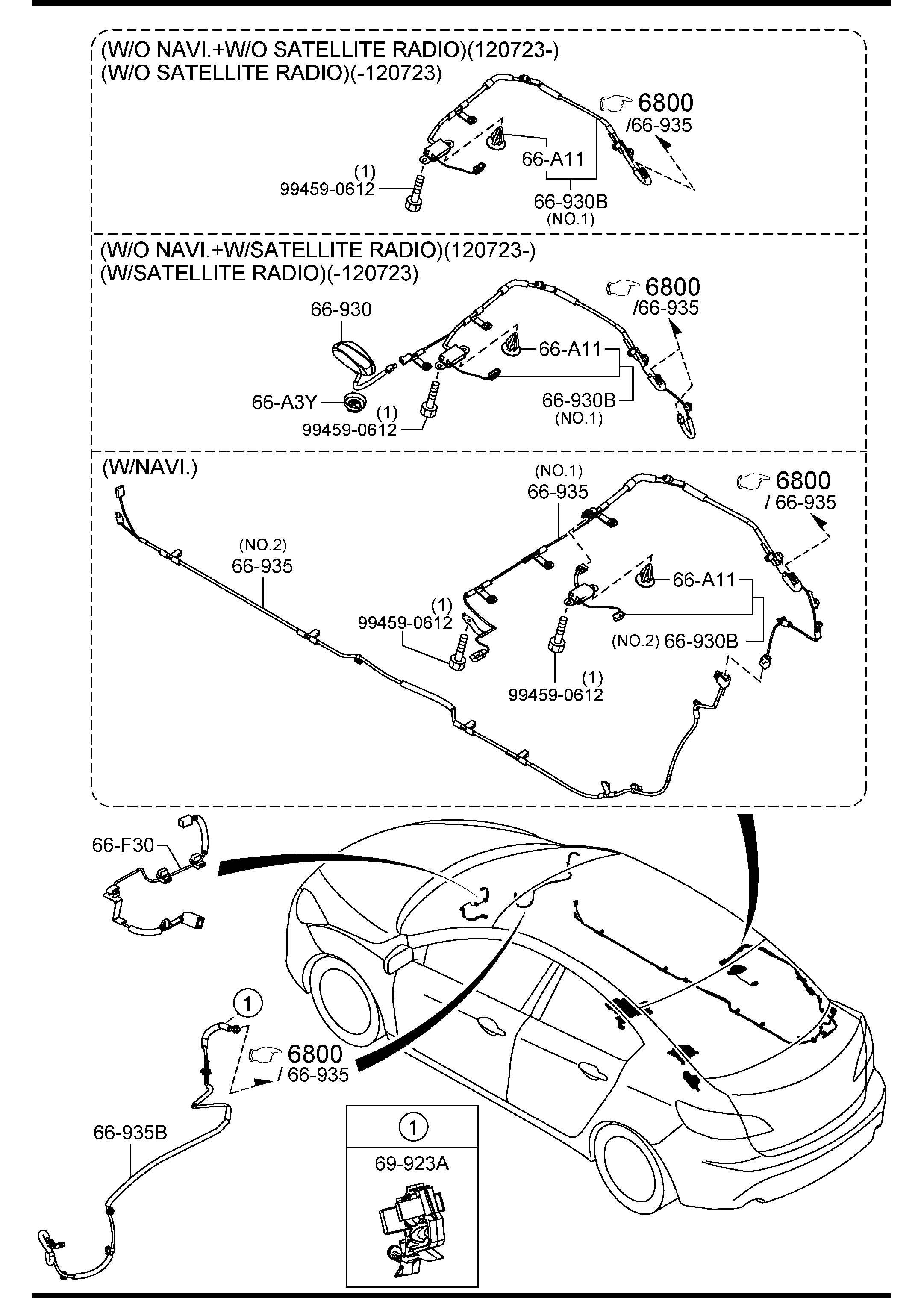 Mazda Mazda 3 Radio Antenna Mast Replacebbrgot