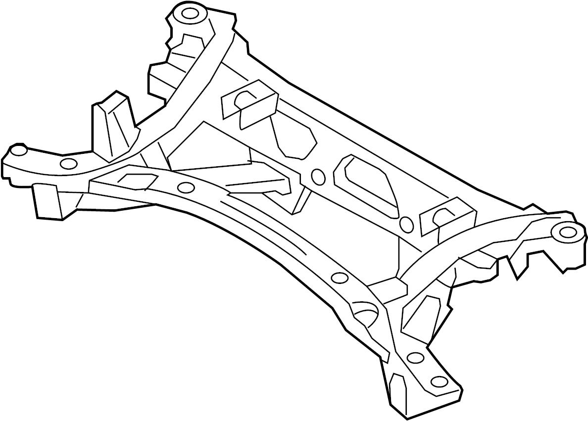 Mazda Suspension Subframe Crossmember Miata Mx5