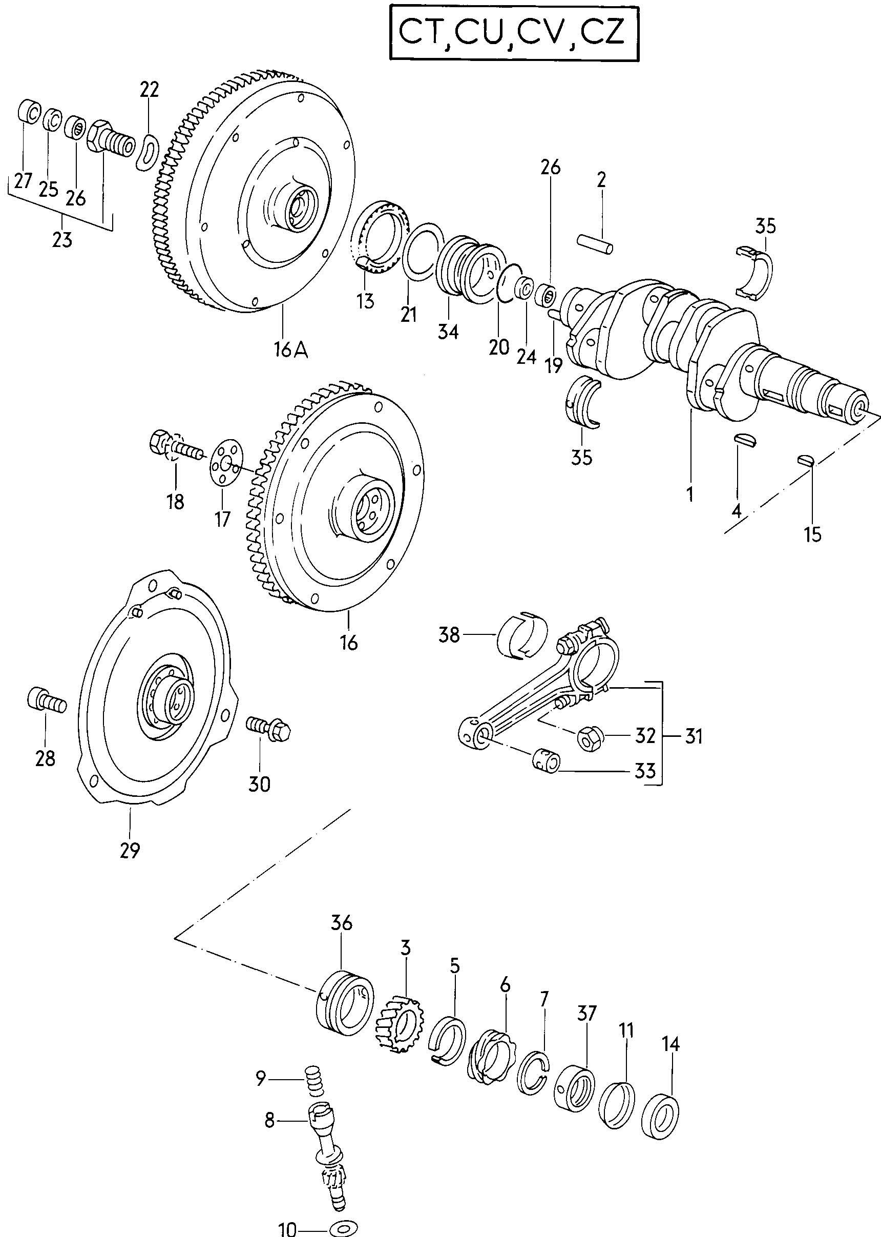 1982 Volkswagen Vanagon Diagram Vw Engine