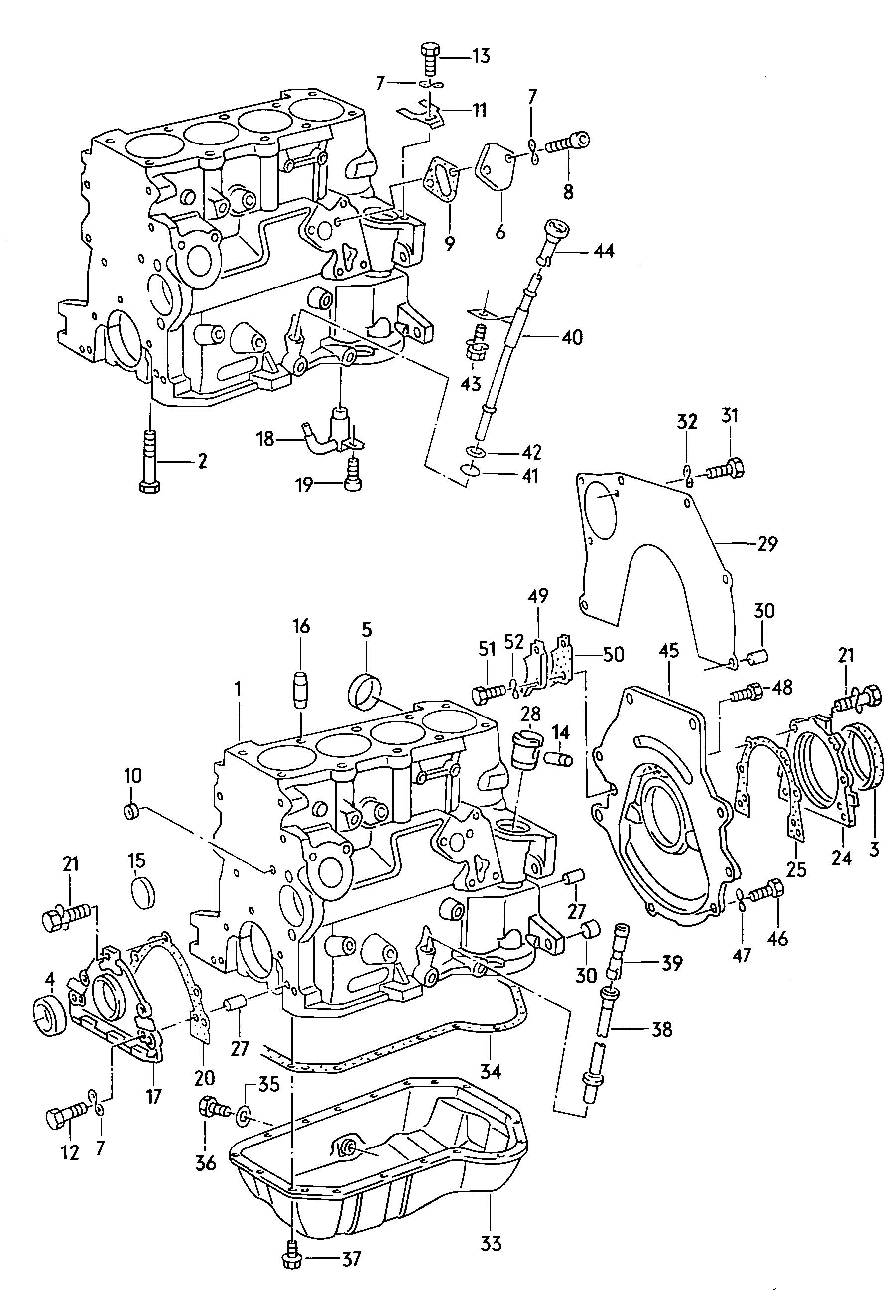 Volkswagen Gasket Also Use Ahu