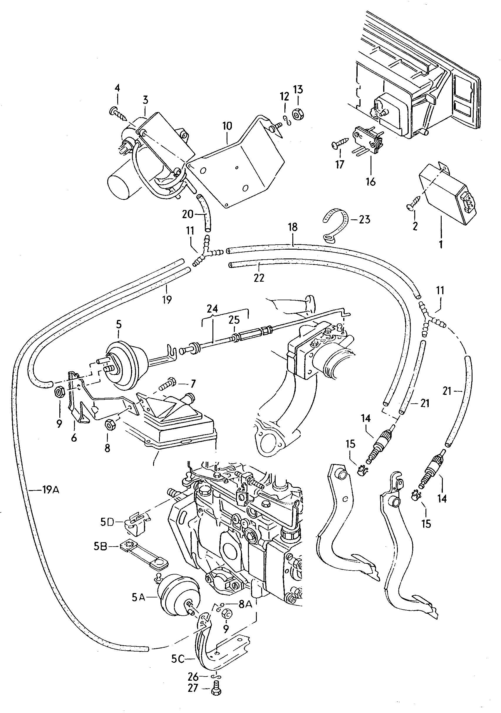 Volkswagen Jetta Vacuum Pump