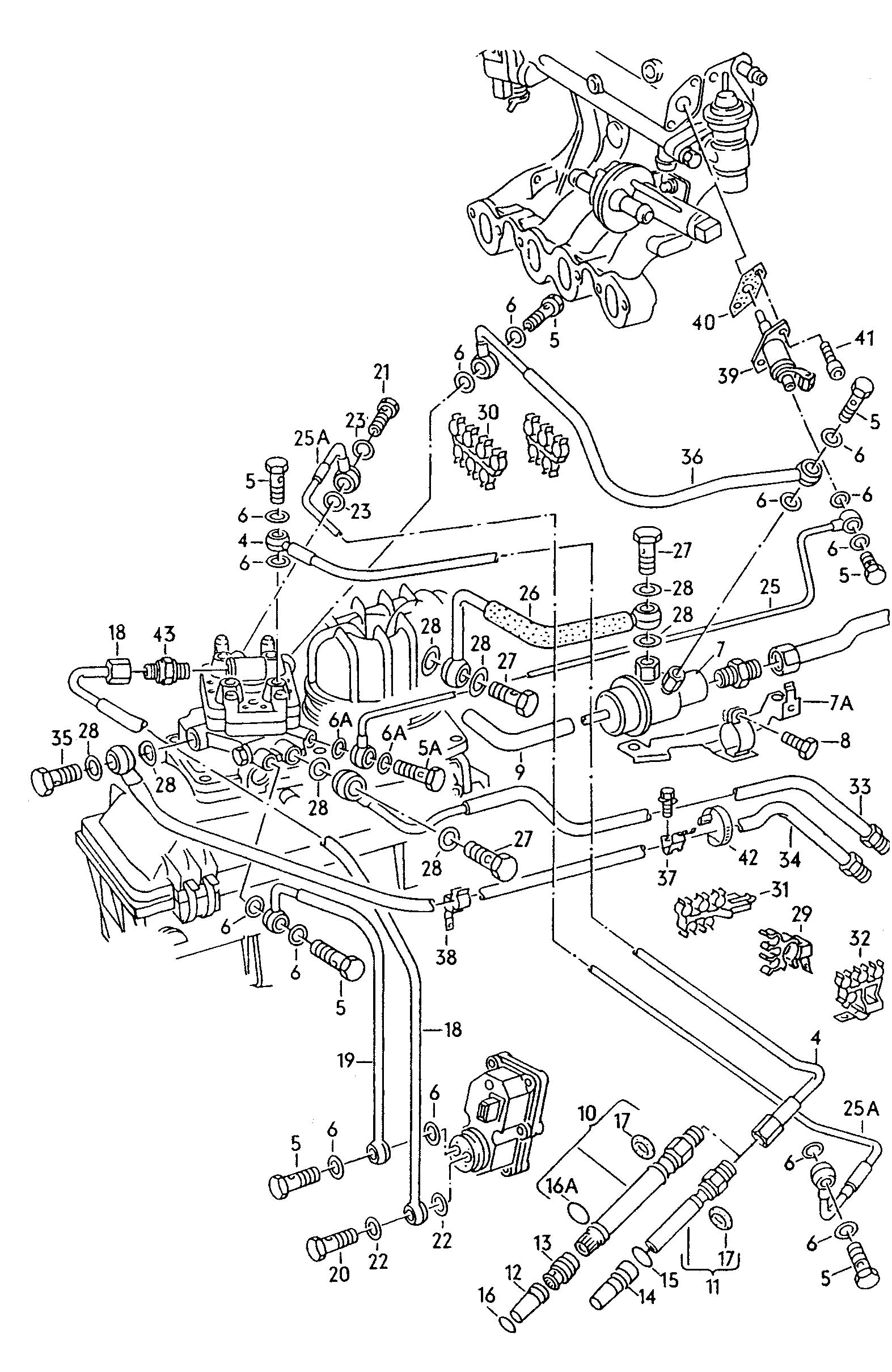 Volkswagen Jetta 1 9l Tdi Cold Start Valve Injector