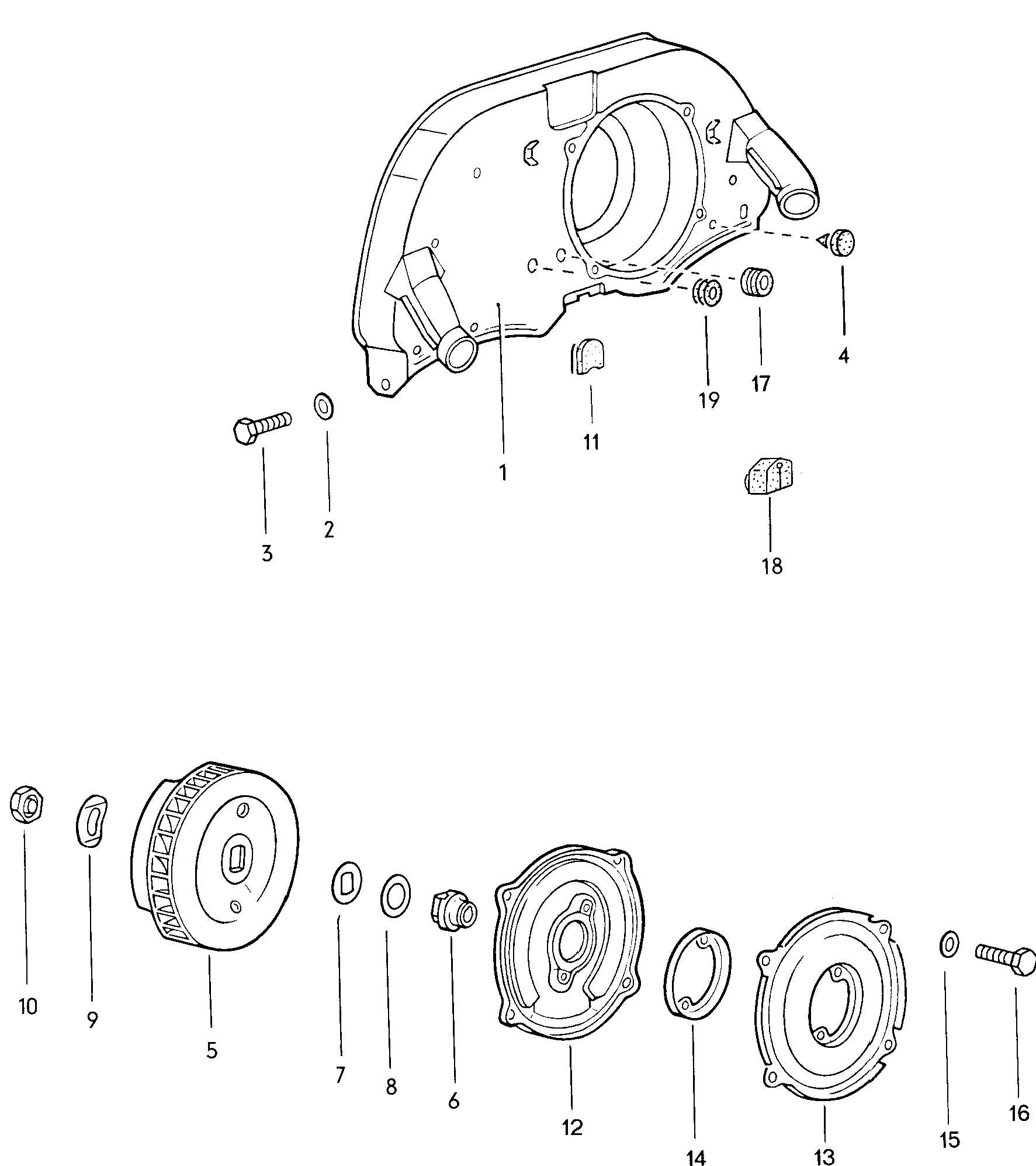 Volkswagen Beetle Heating Control Cable Grommet For