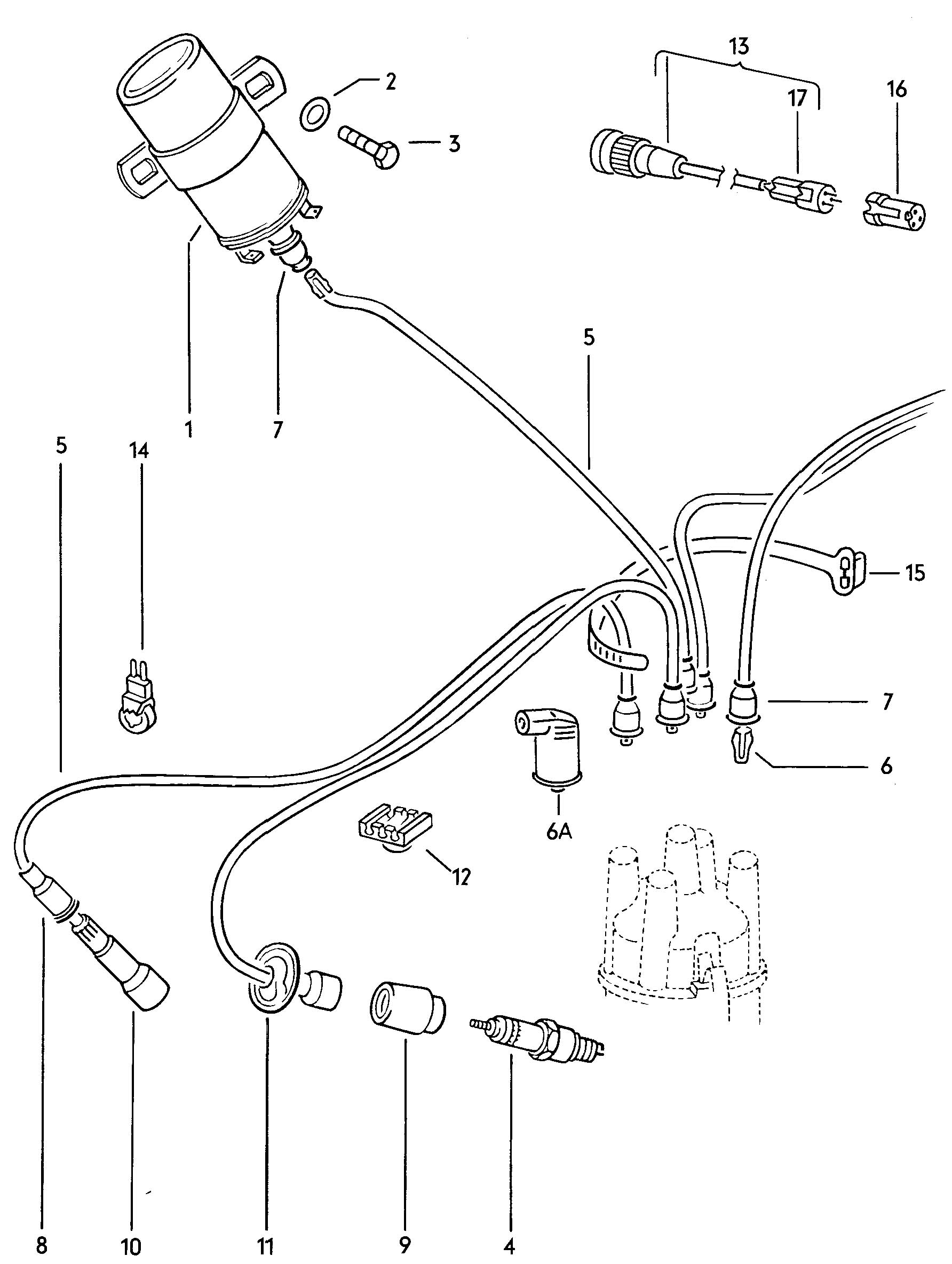 35 Vw Beetle Ignition Coil Wiring Diagram