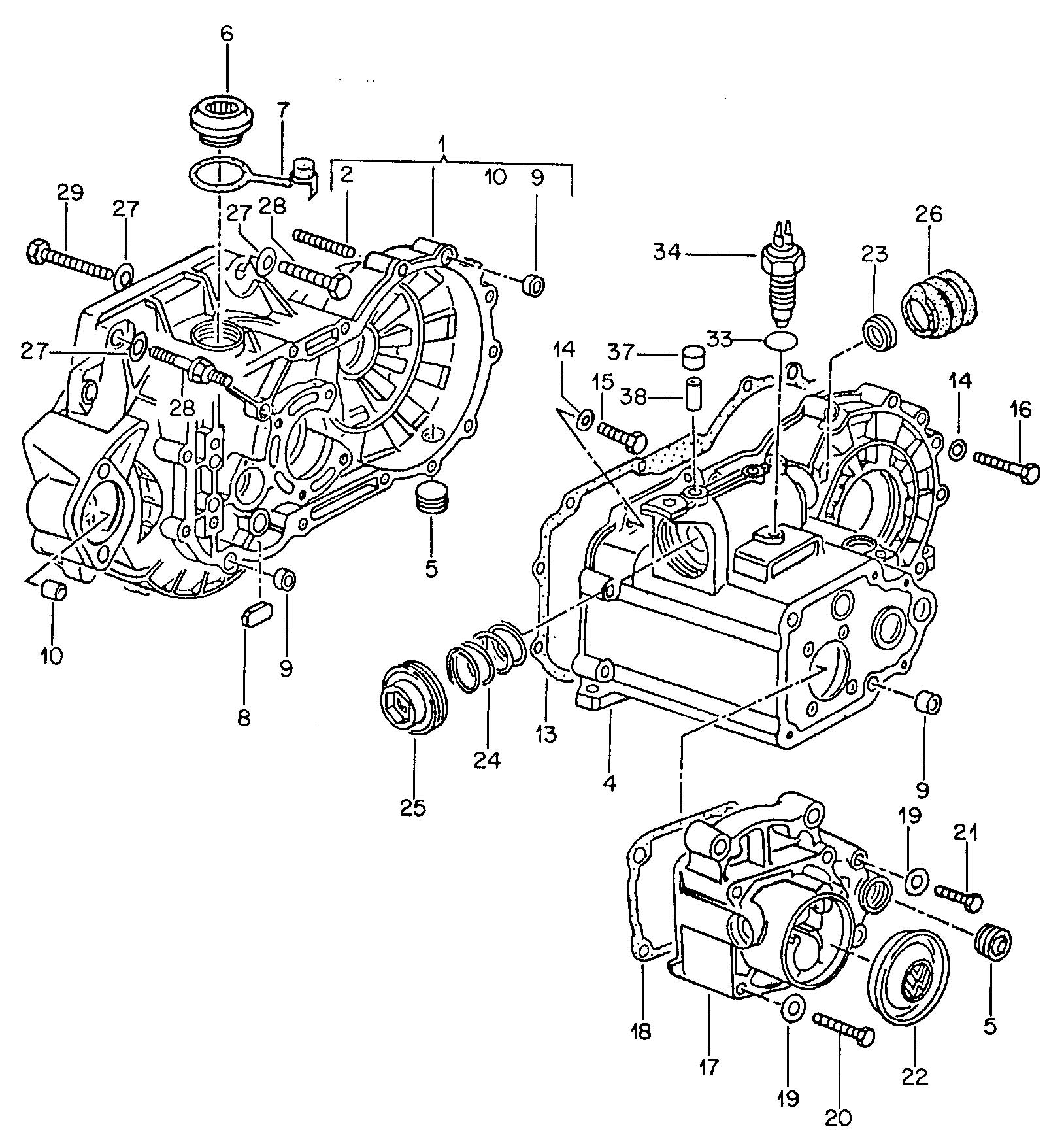 Diagram Vw Jetta Manual Transmission Diagram Full