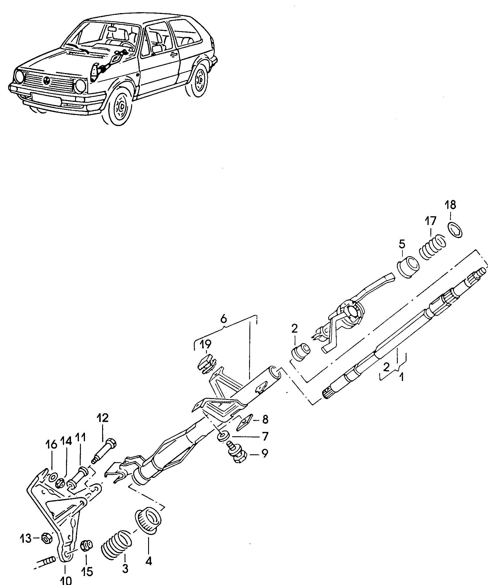 Volkswagen Jetta Adapter Sleeve