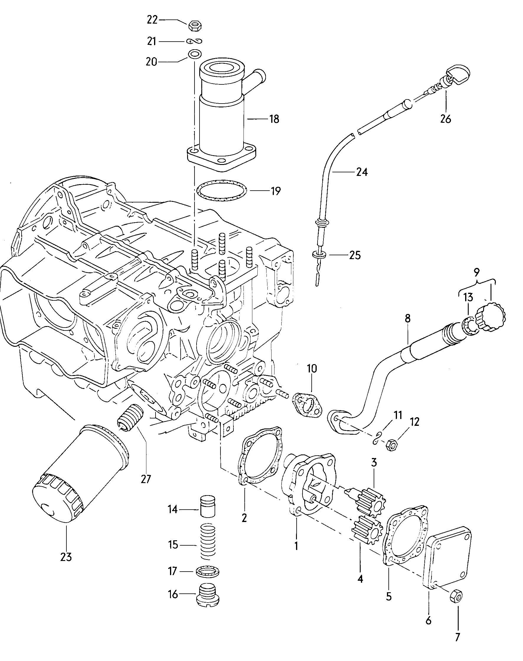 Volkswagen Vanagon Oil Filler Tube Also Use Filler
