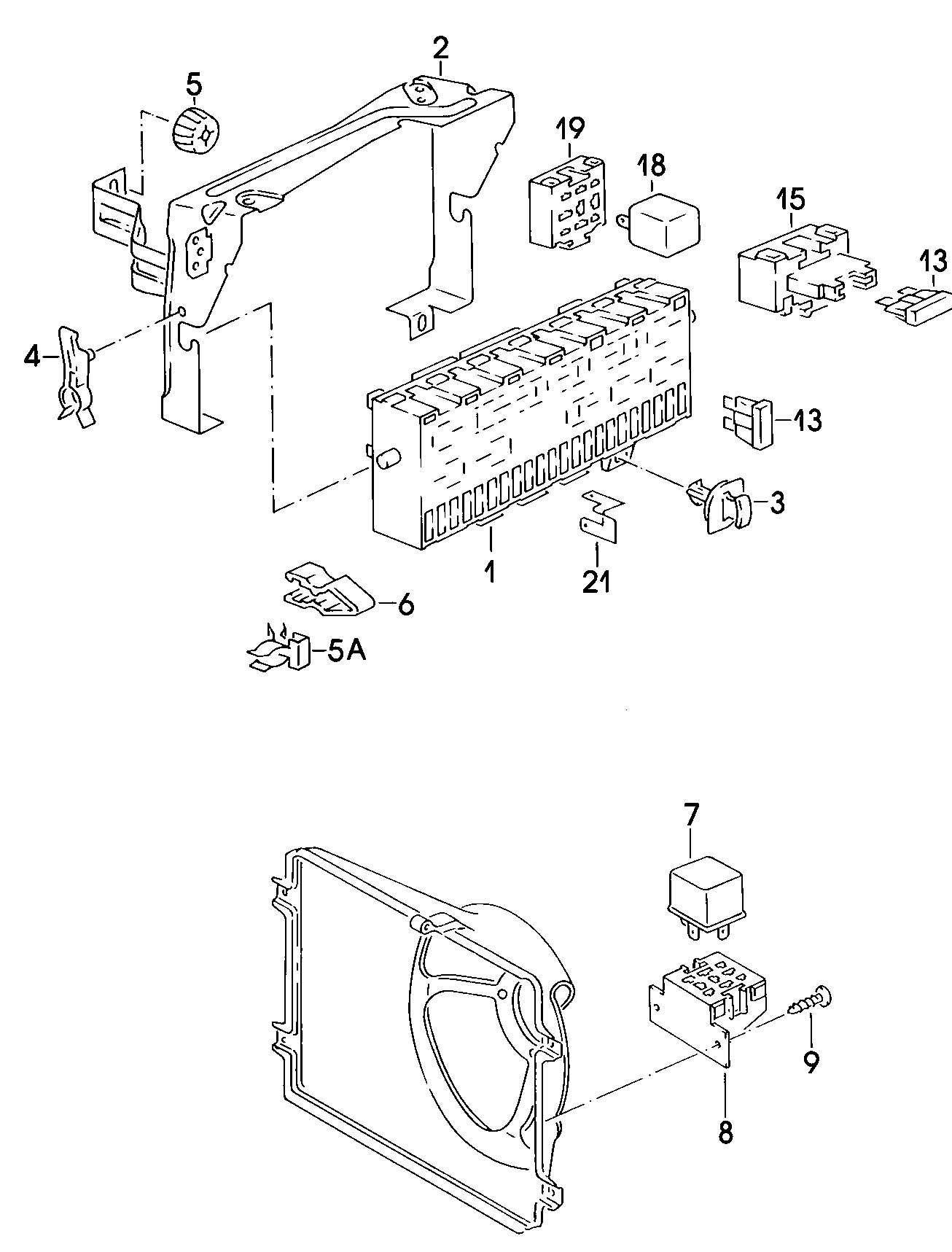 Volkswagen Jetta Secondary Air Pump Relay Fuer Fahrzeuge