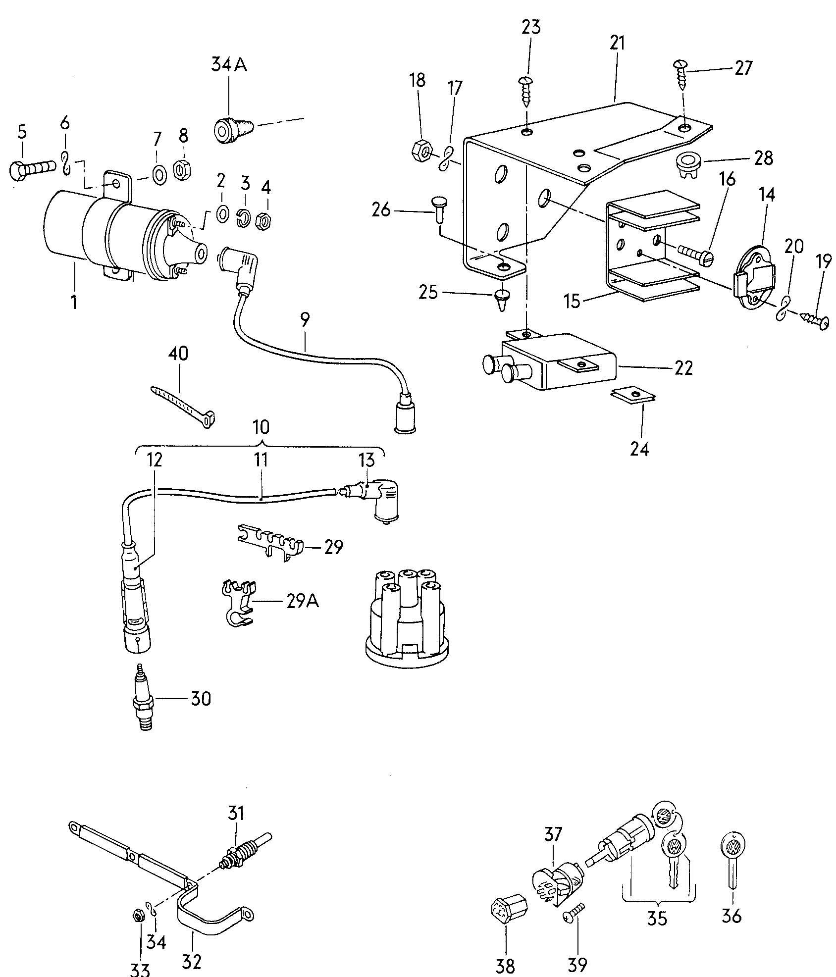Vw Vanagon Engine Diagram Diagram Auto Wiring Diagram