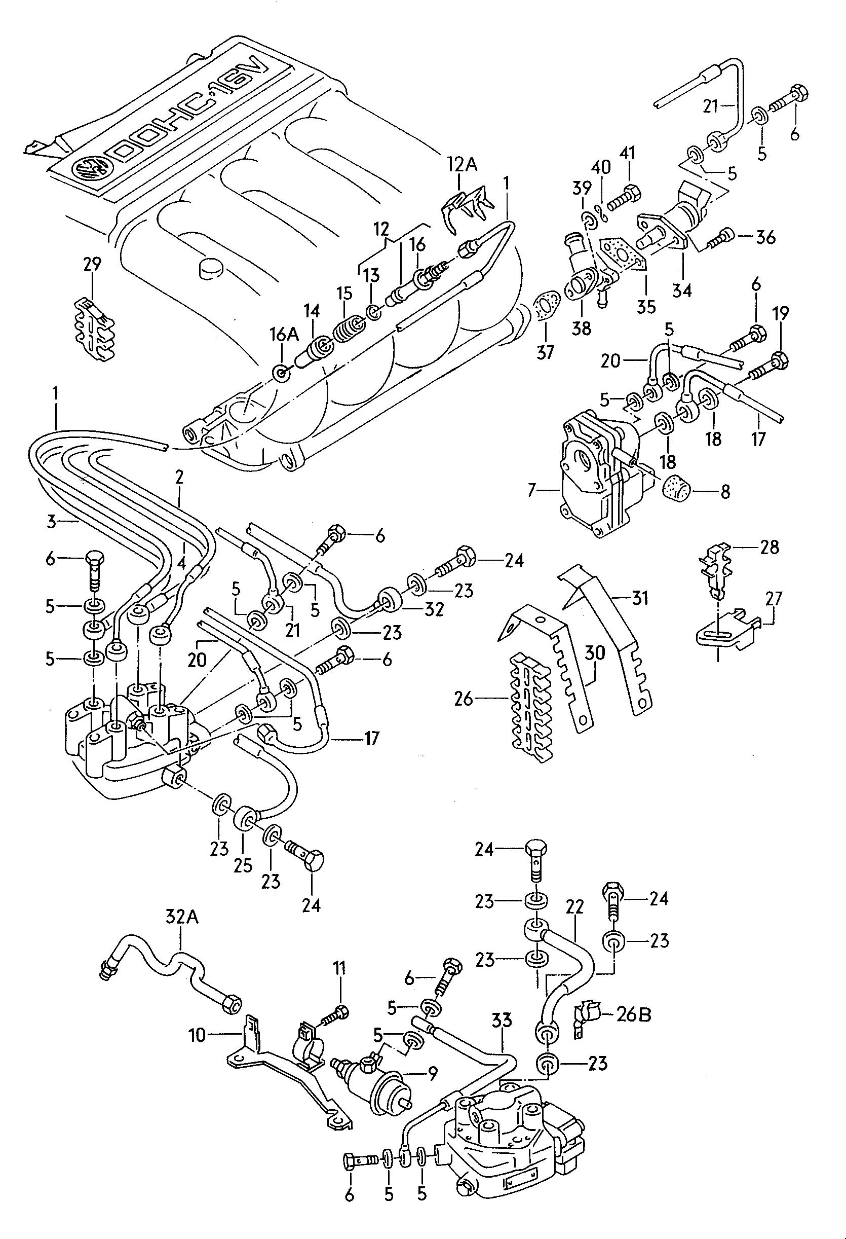 1600cc Vw Engine Diagram 1975