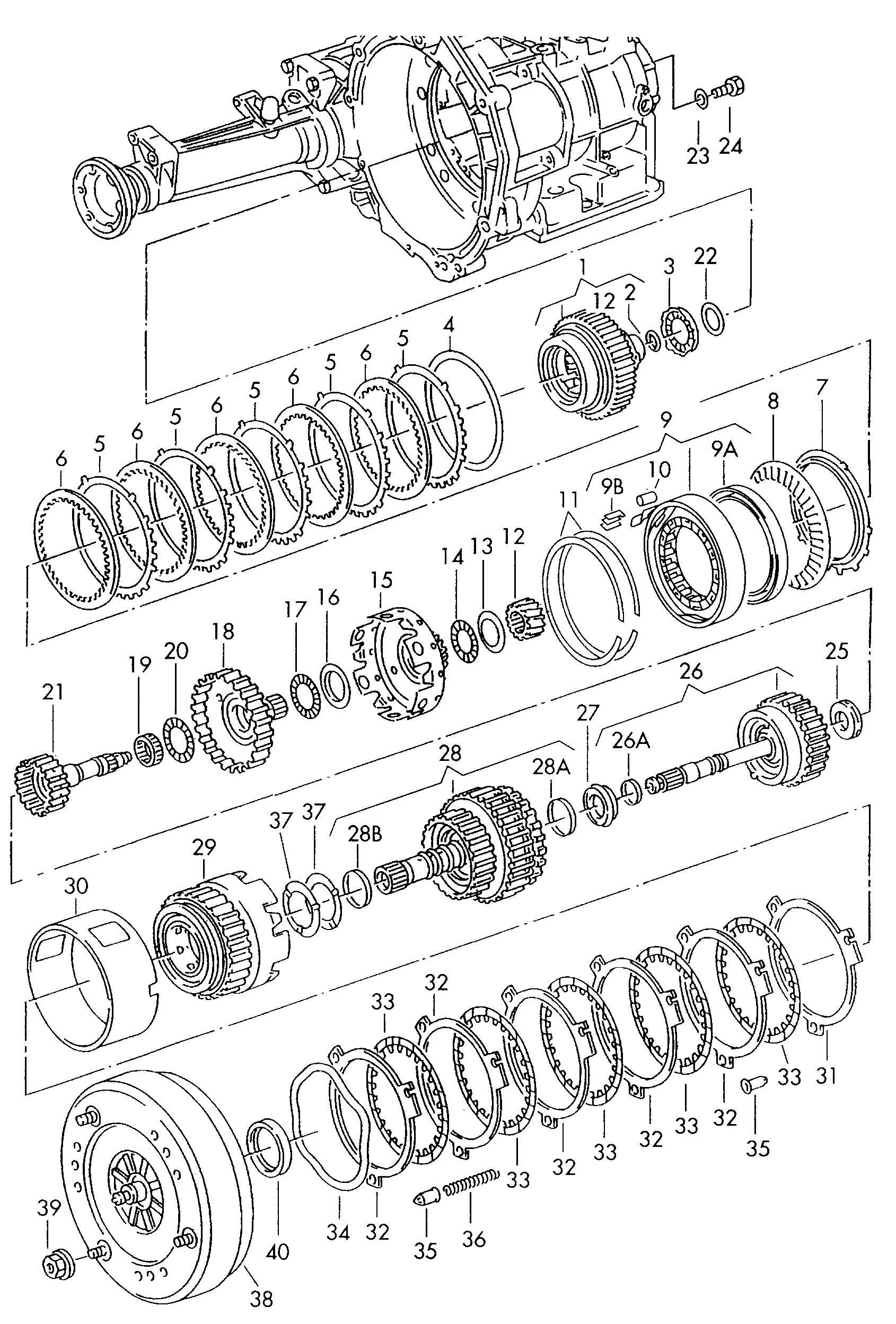 Volkswagen Eurovan Torque Converter Code Letter Qbdd