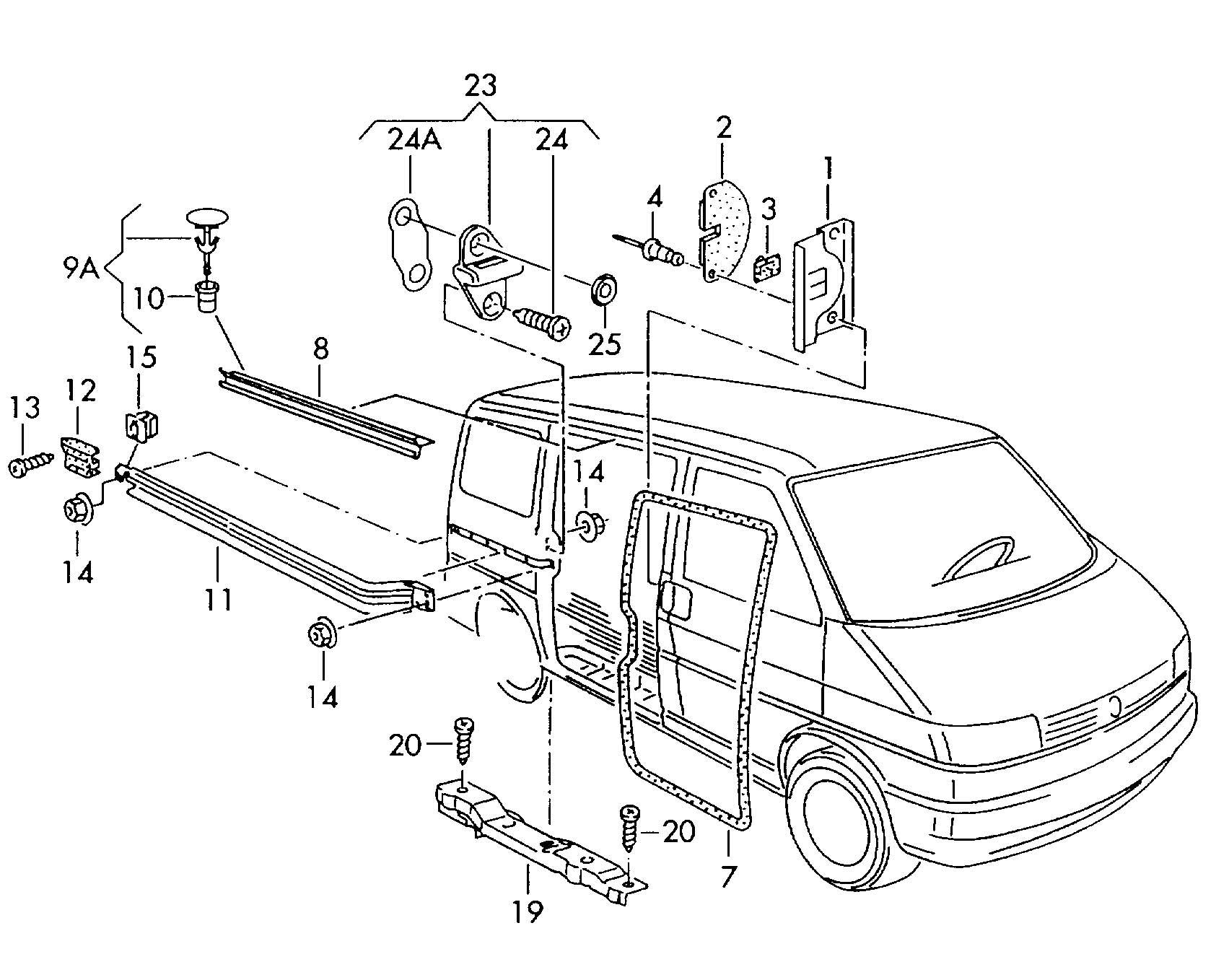 Volkswagen Routan Interior Parts