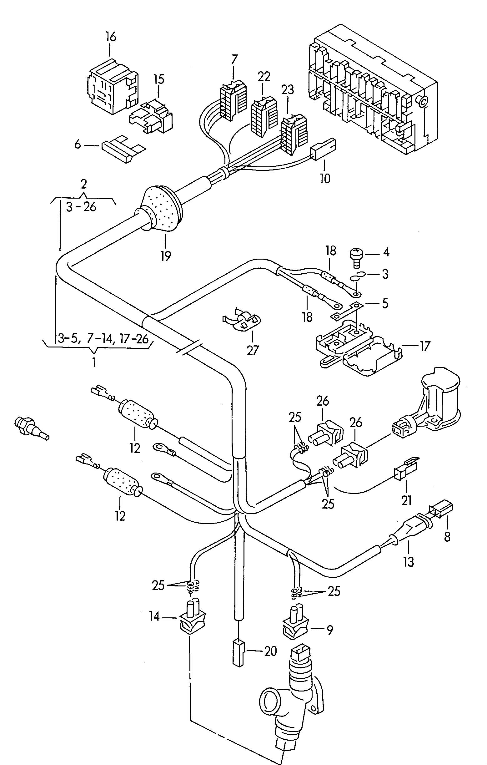1999 Vw Eurovan Wiring Diagram