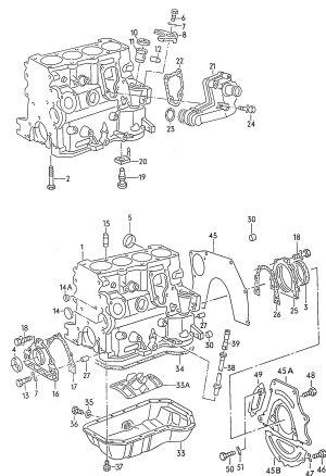 NEW FEBI ENGINE OIL PAN VW (PASSAT, CABRIO, JETTA) 7502