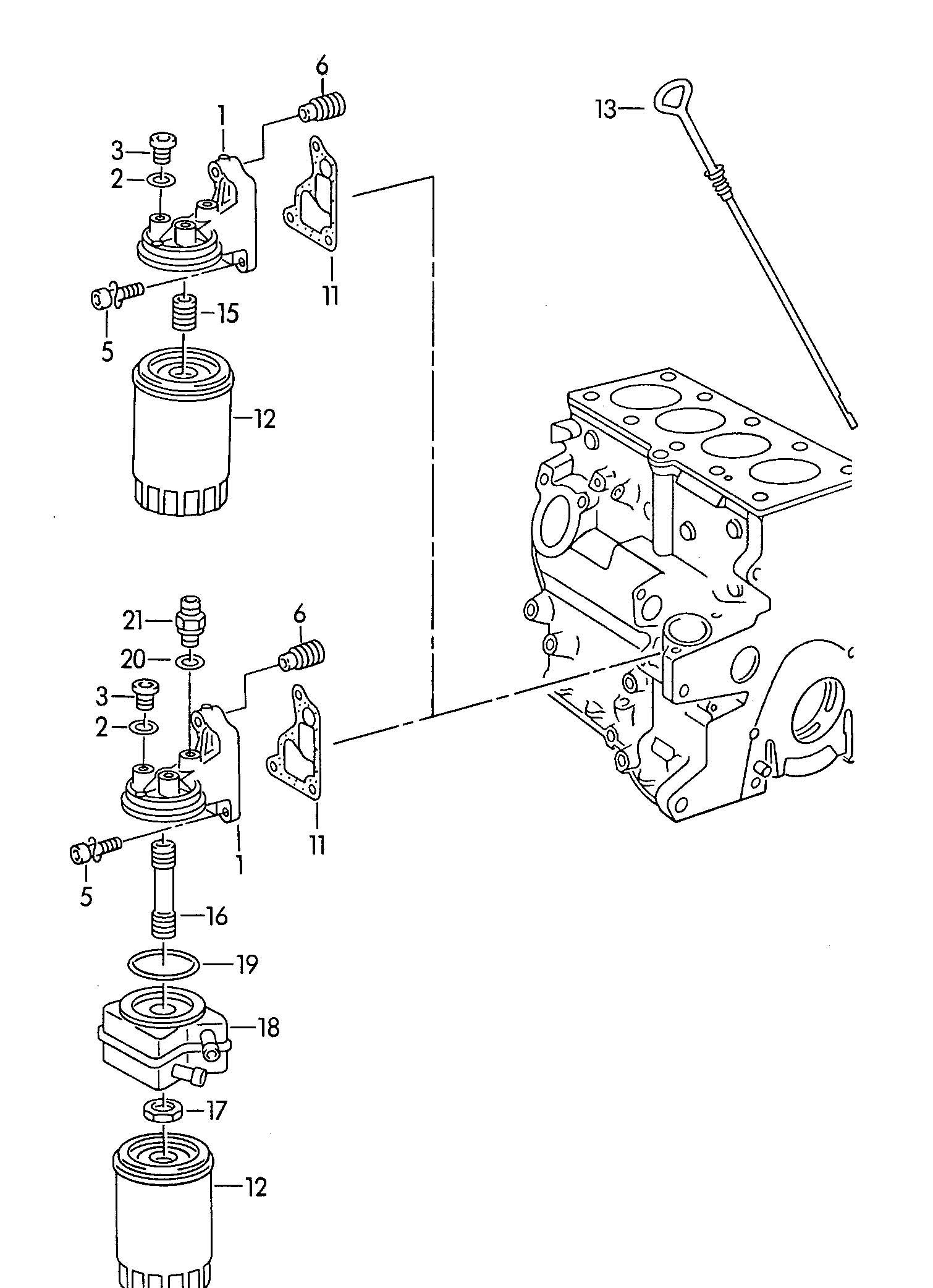Oil Filter Oil Filter Adapter 1 8 2 0ltr 1 9 2 0ltr 2 0ltr