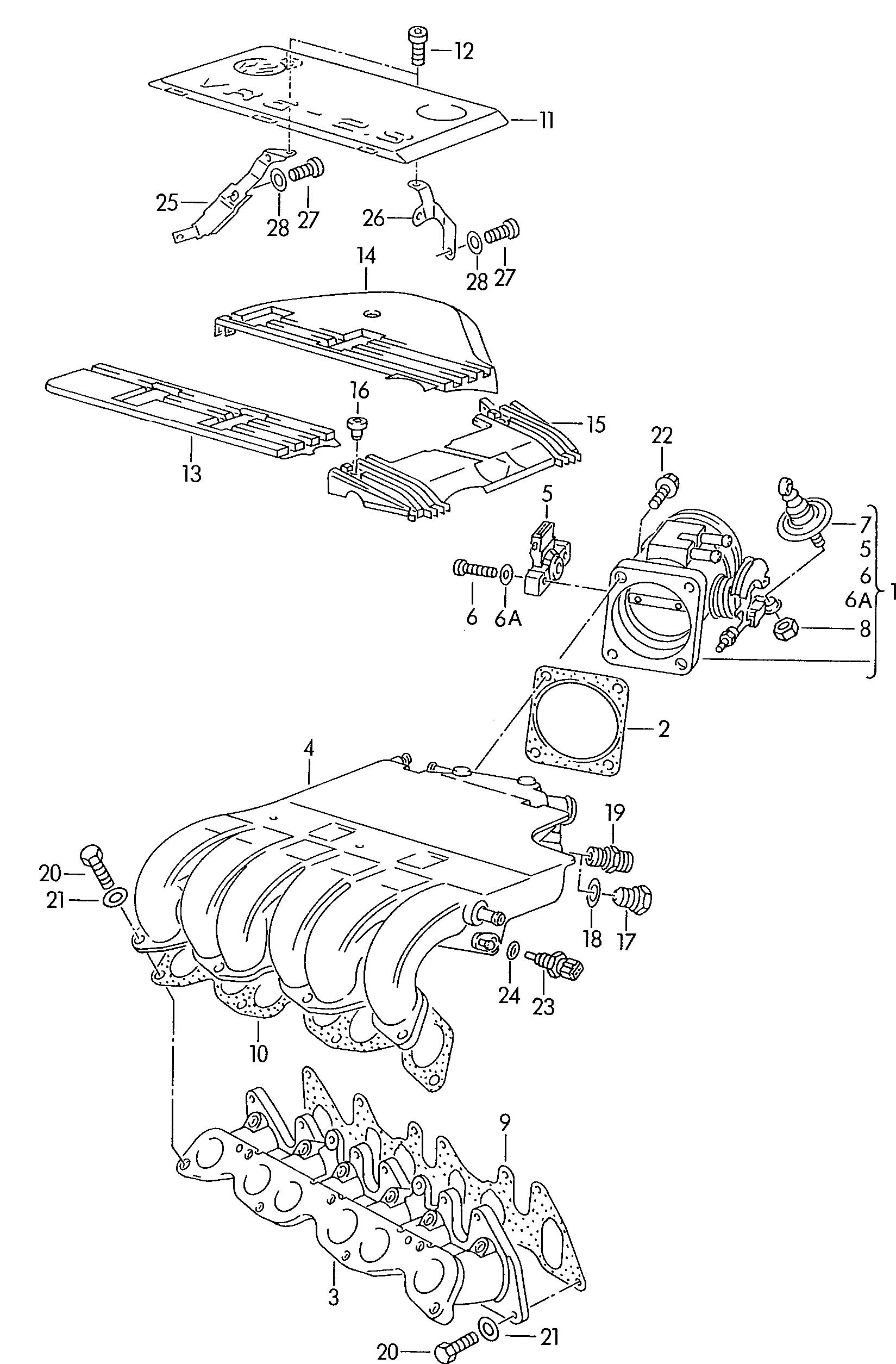 Throttle Body Cabrio