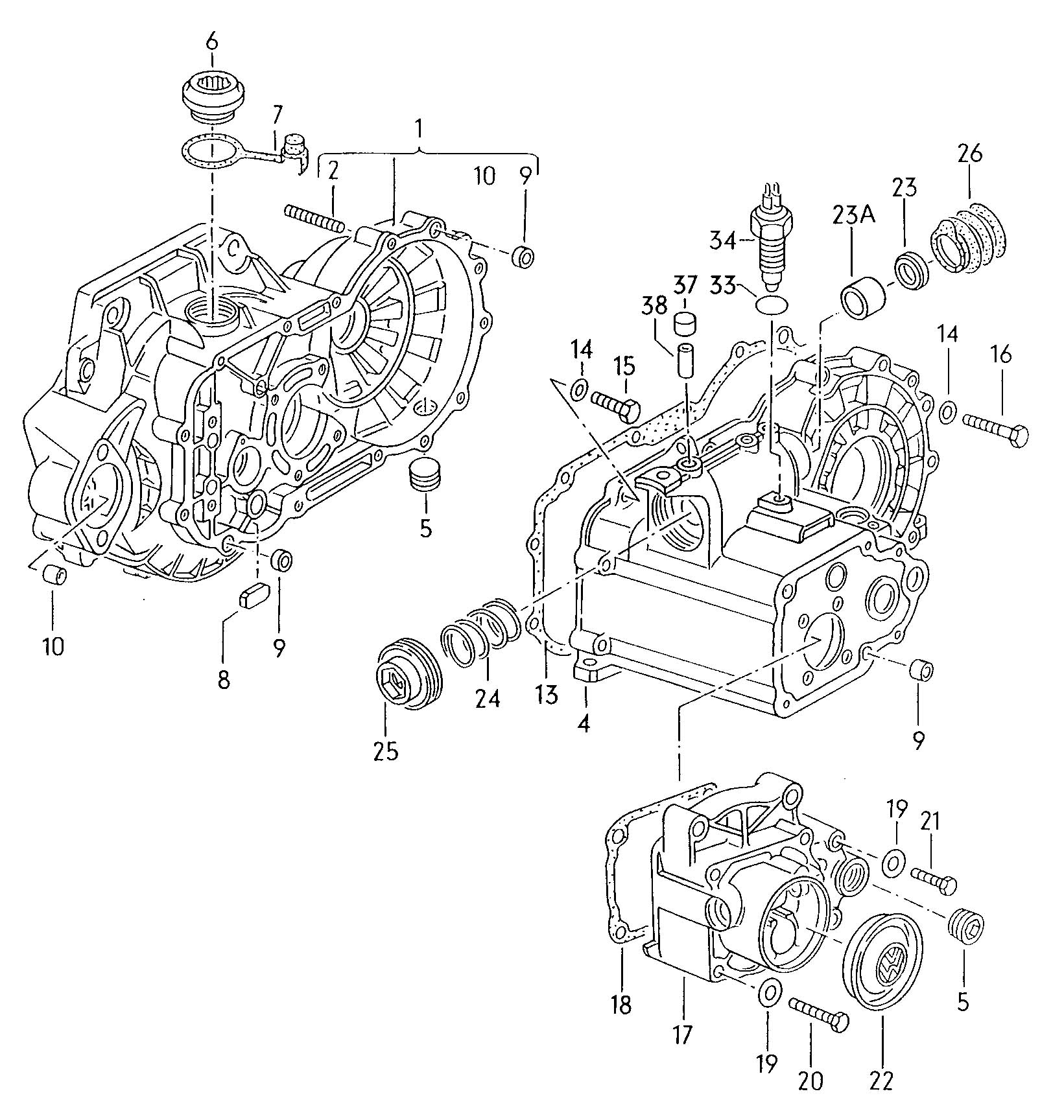 Vw Cabrio Manual Transmission