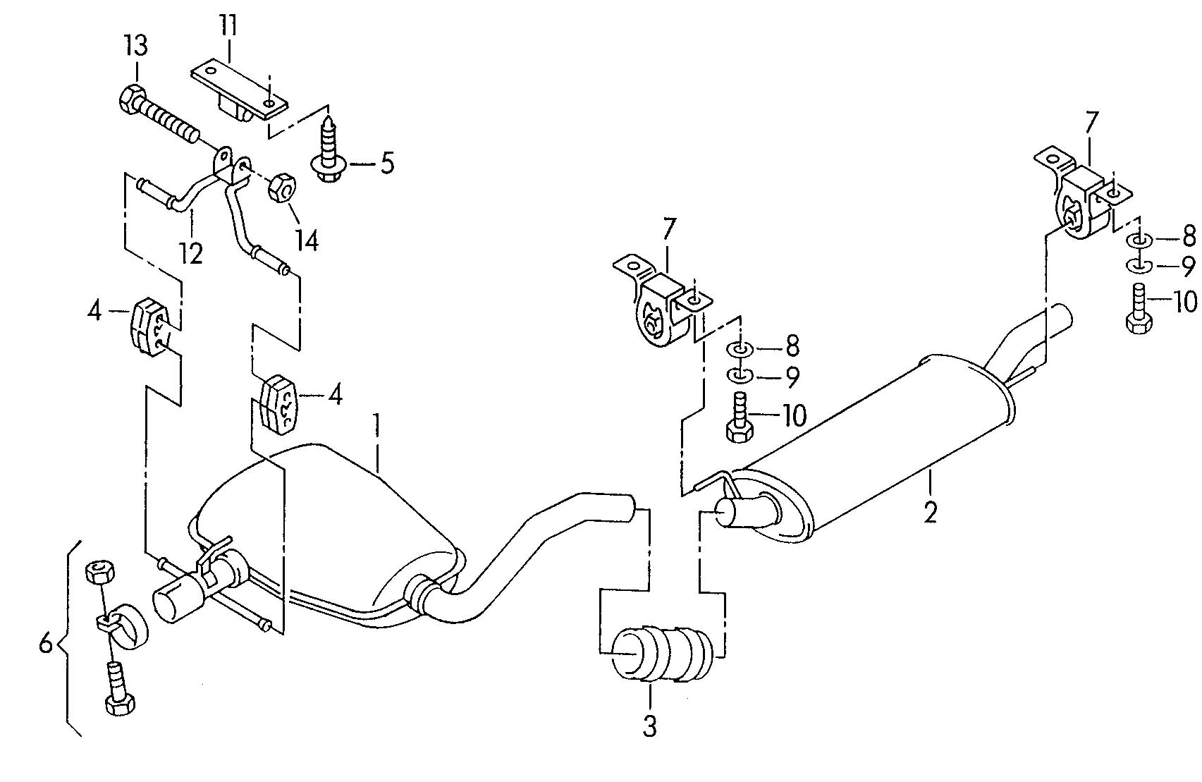 Volkswagen Dual Clamp Dual Clip Clip Common Cmxa