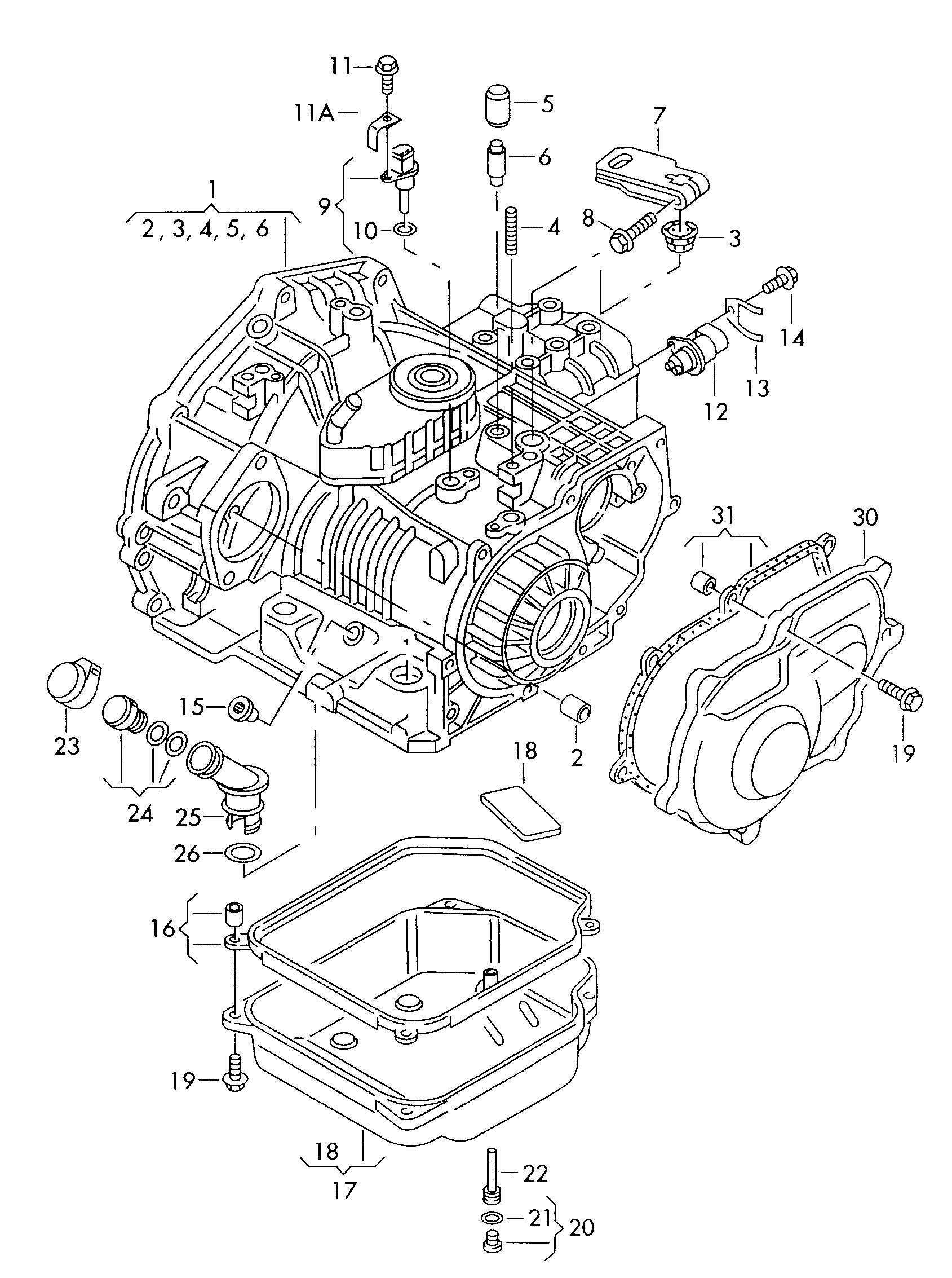 Volkswagen Cabrio Cabriolet 2 0l Oil Pan Oil Sump