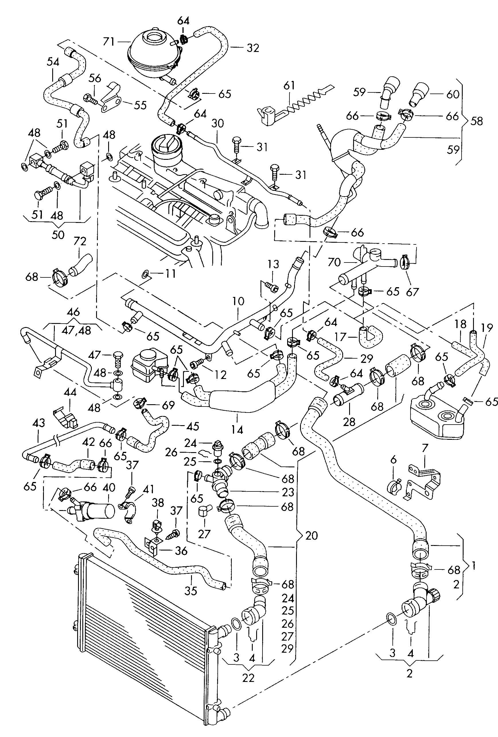 Volkswagen Distributor Piece Adaptor Tpiece