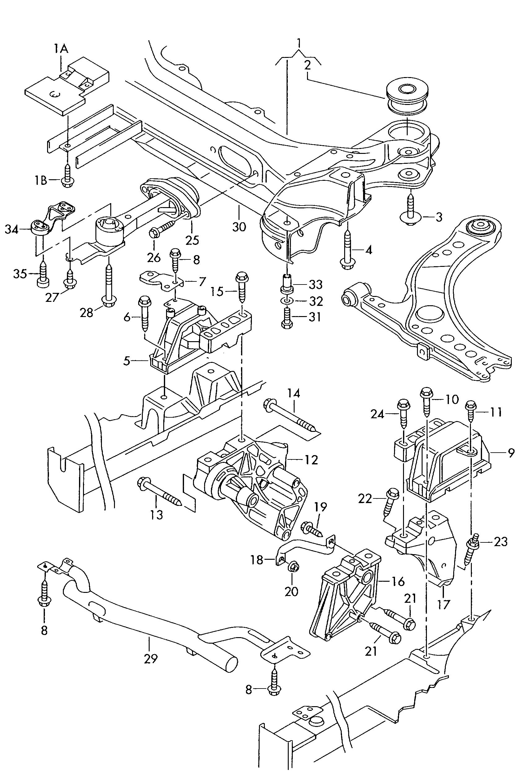 30 Volkswagen Beetle Parts Diagram