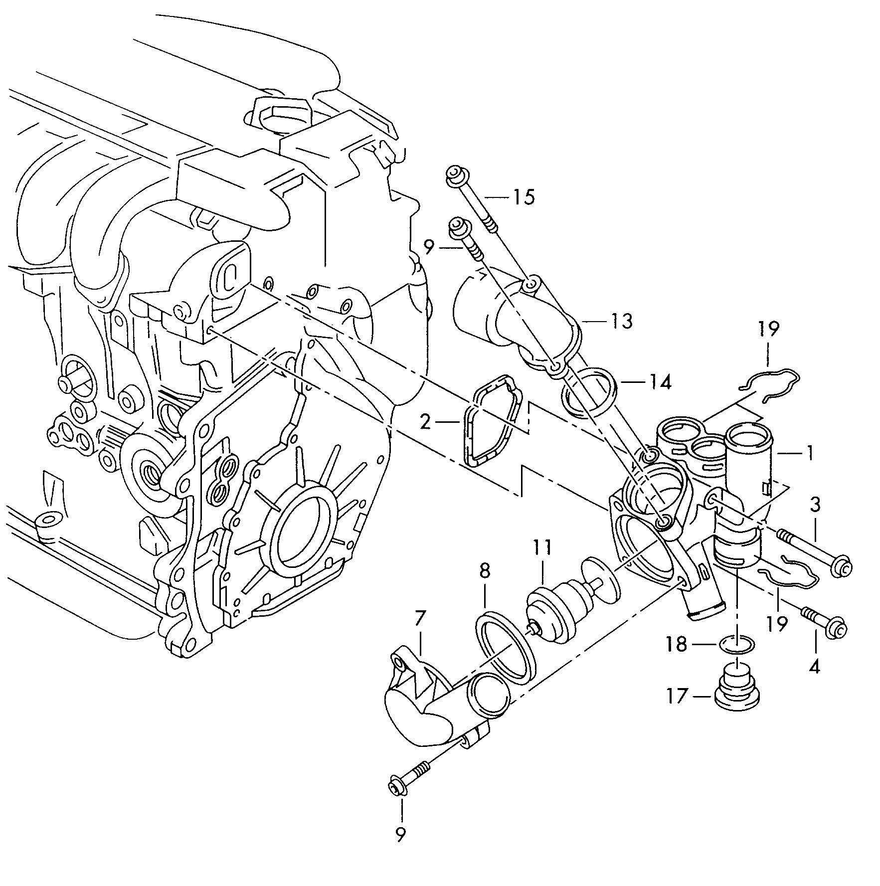 Volkswagen Jetta Adapter Connector Adaptor