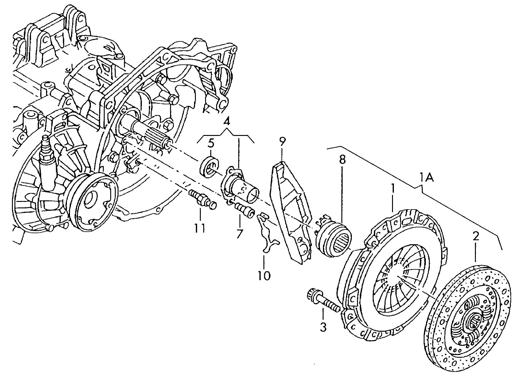 Volkswagen Jetta Clutch Pressure Plate To Be Used For