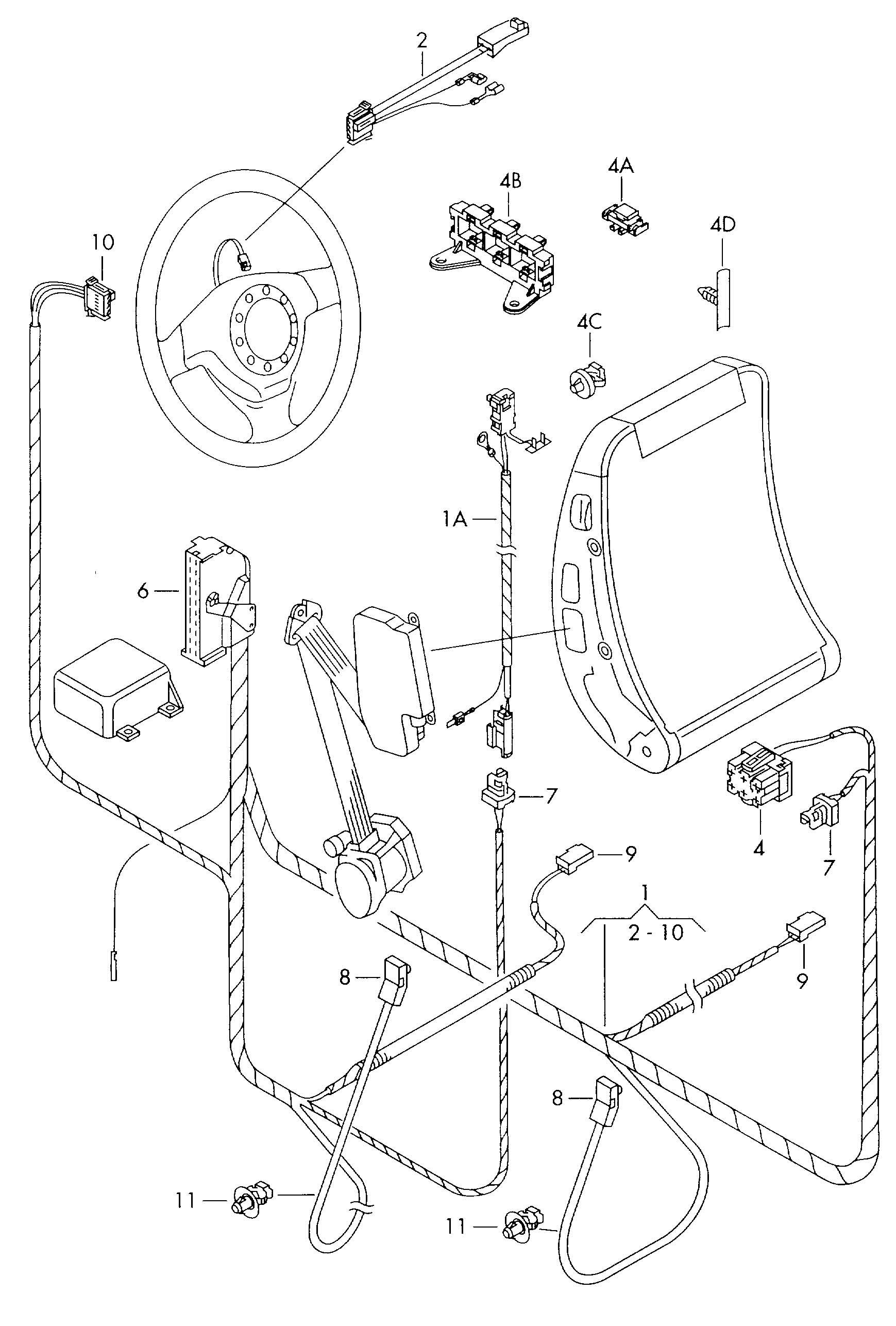Volkswagen New Beetle Convertible Steering Wheel Horn
