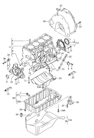 [WRG4232] Passat Tdi Engine Diagram