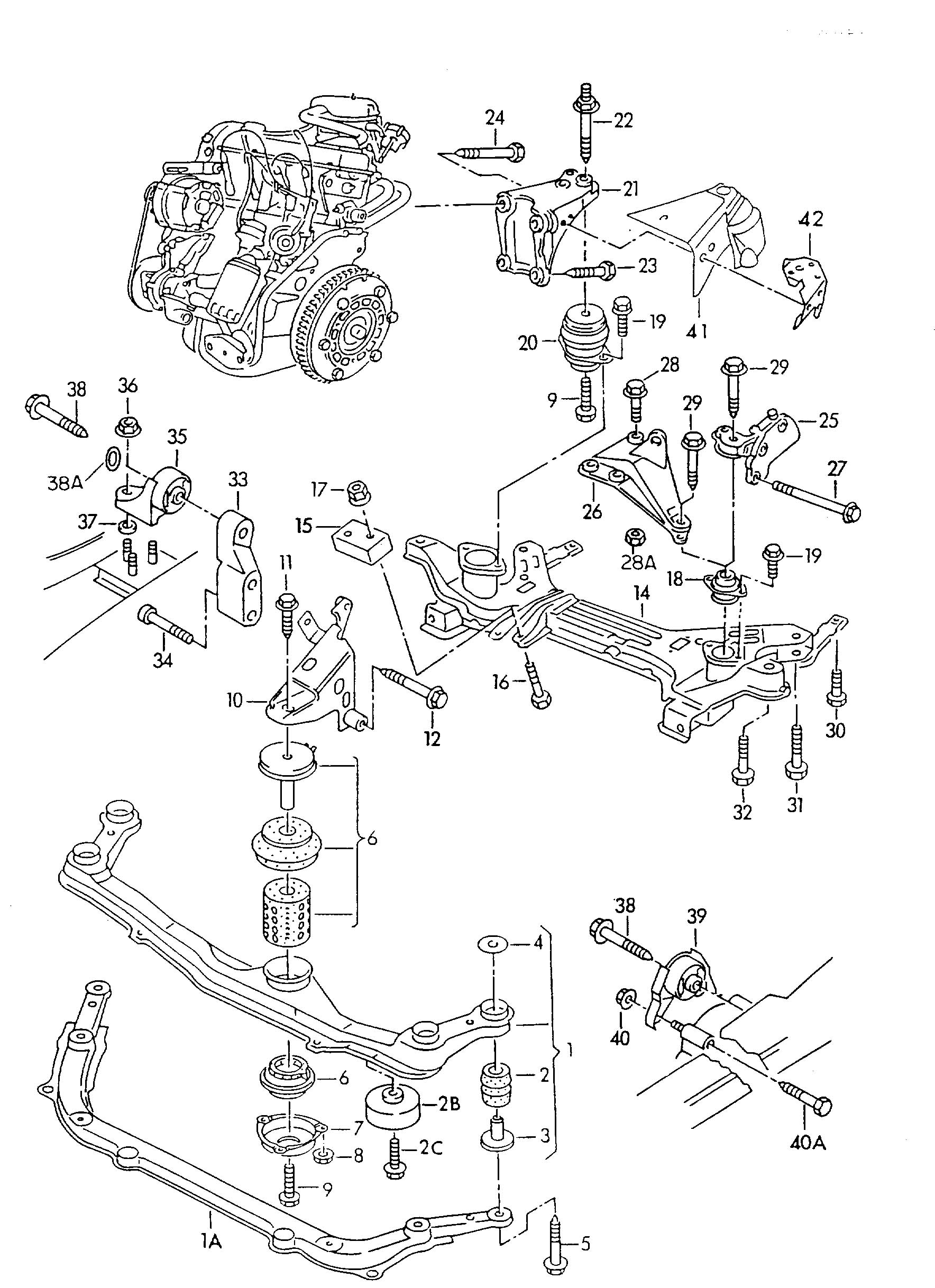 Volkswagen Jetta Body Parts Diagram