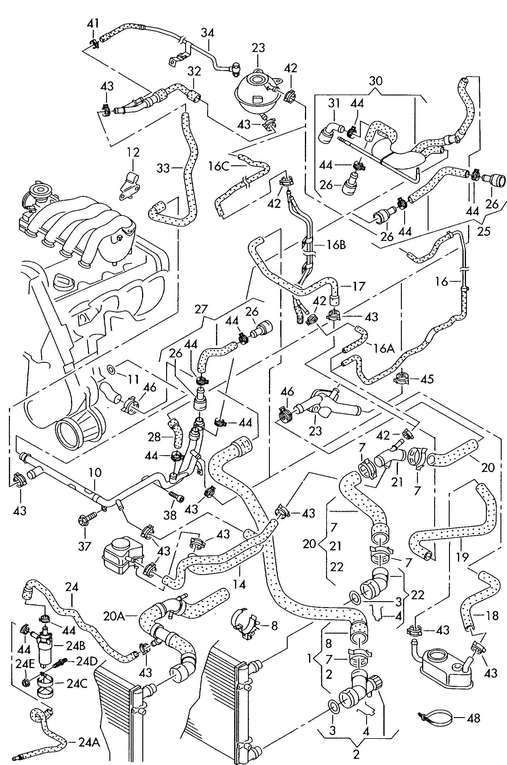 1 8t Vw Engine Schematic