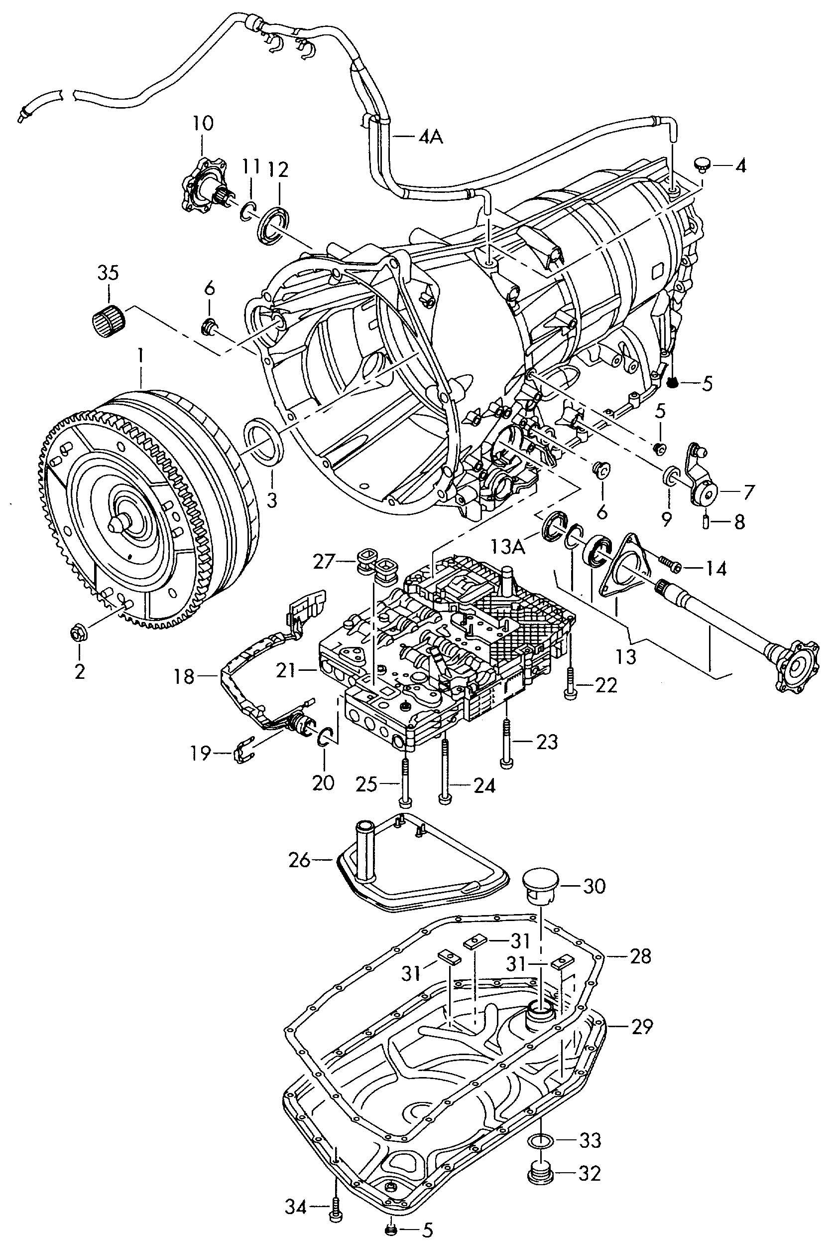 Volkswagen Gasket For Oil Pan Gasket For Oil Sump