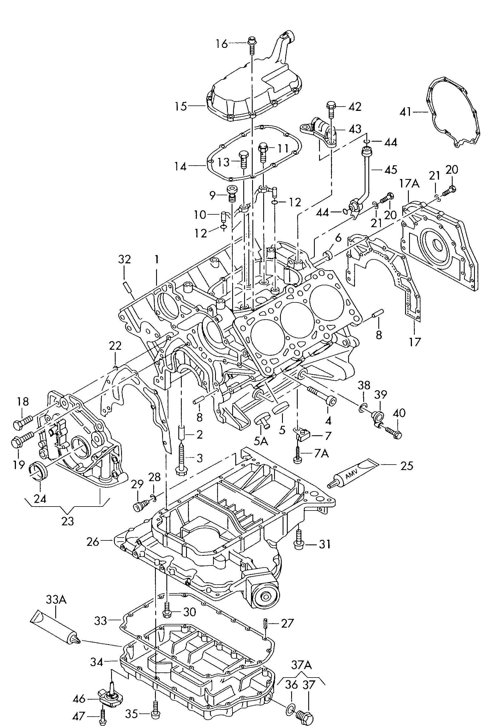 Volkswagen Passat Gasket