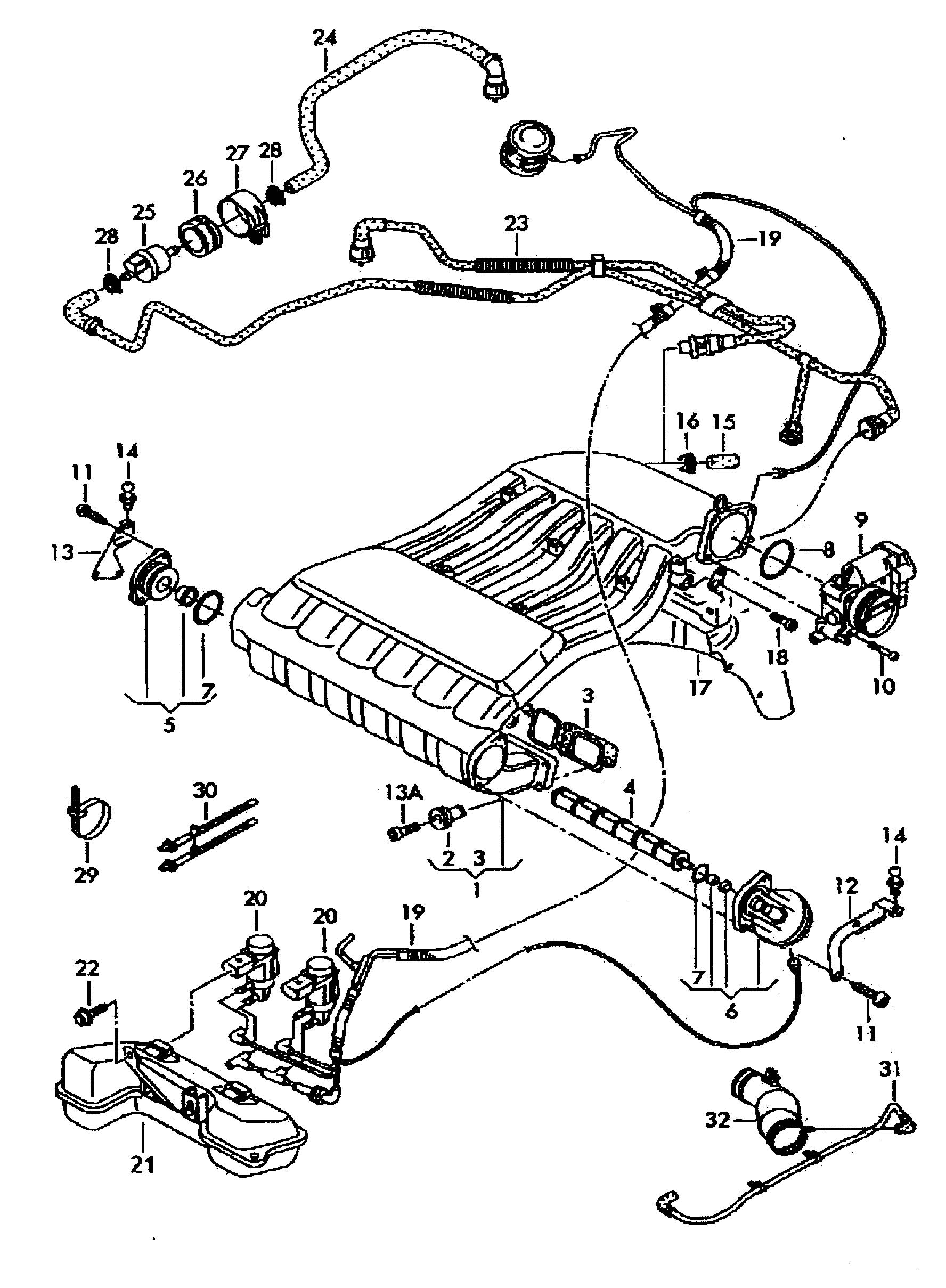 Vw Vr6 Engine Diagram Intake