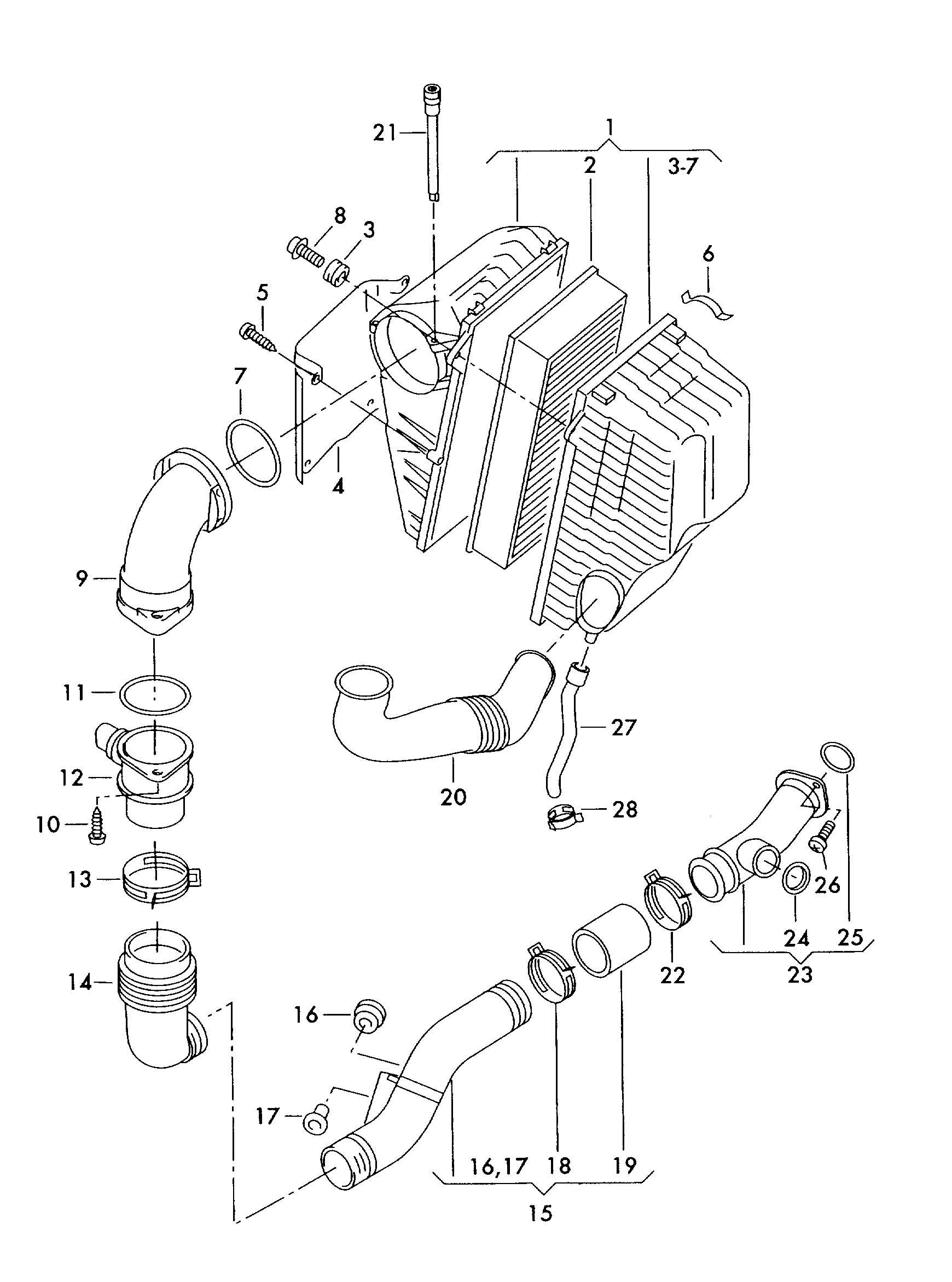 Volkswagen Touareg Spring Clip Small Atf Preheater