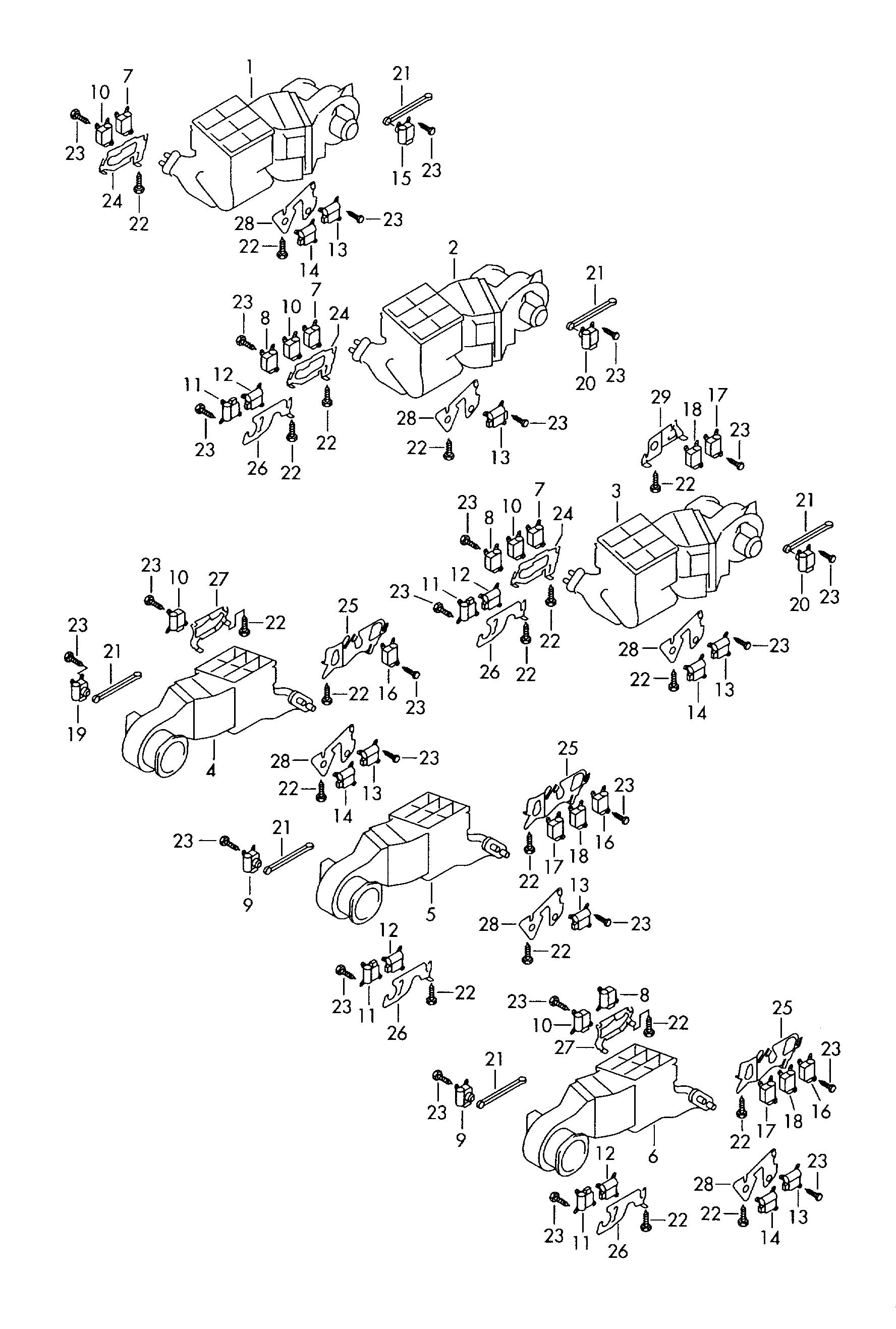 Volkswagen Touareg And Or Adjustment Motor For For