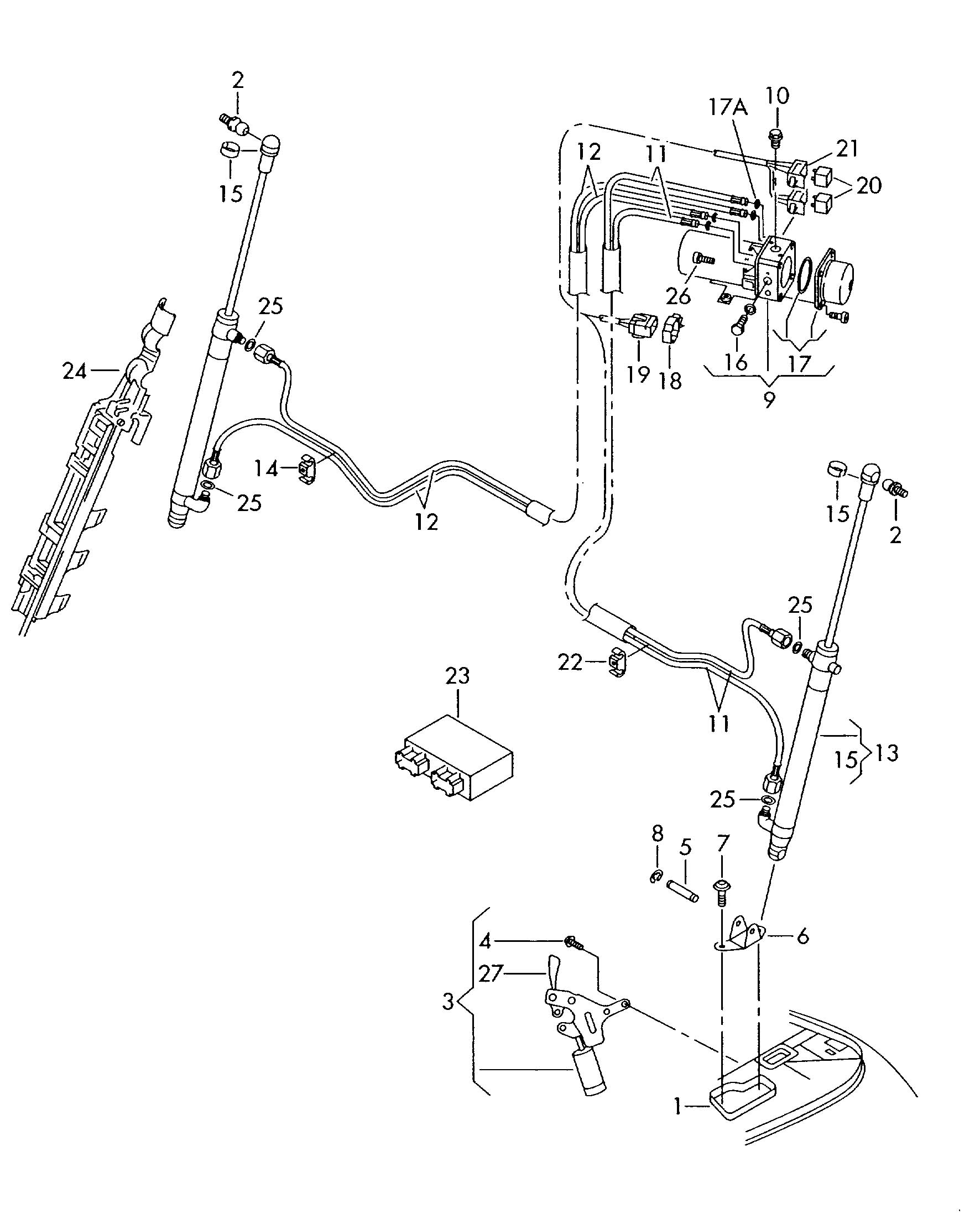 Hydraulic System For Convertible Top Operation
