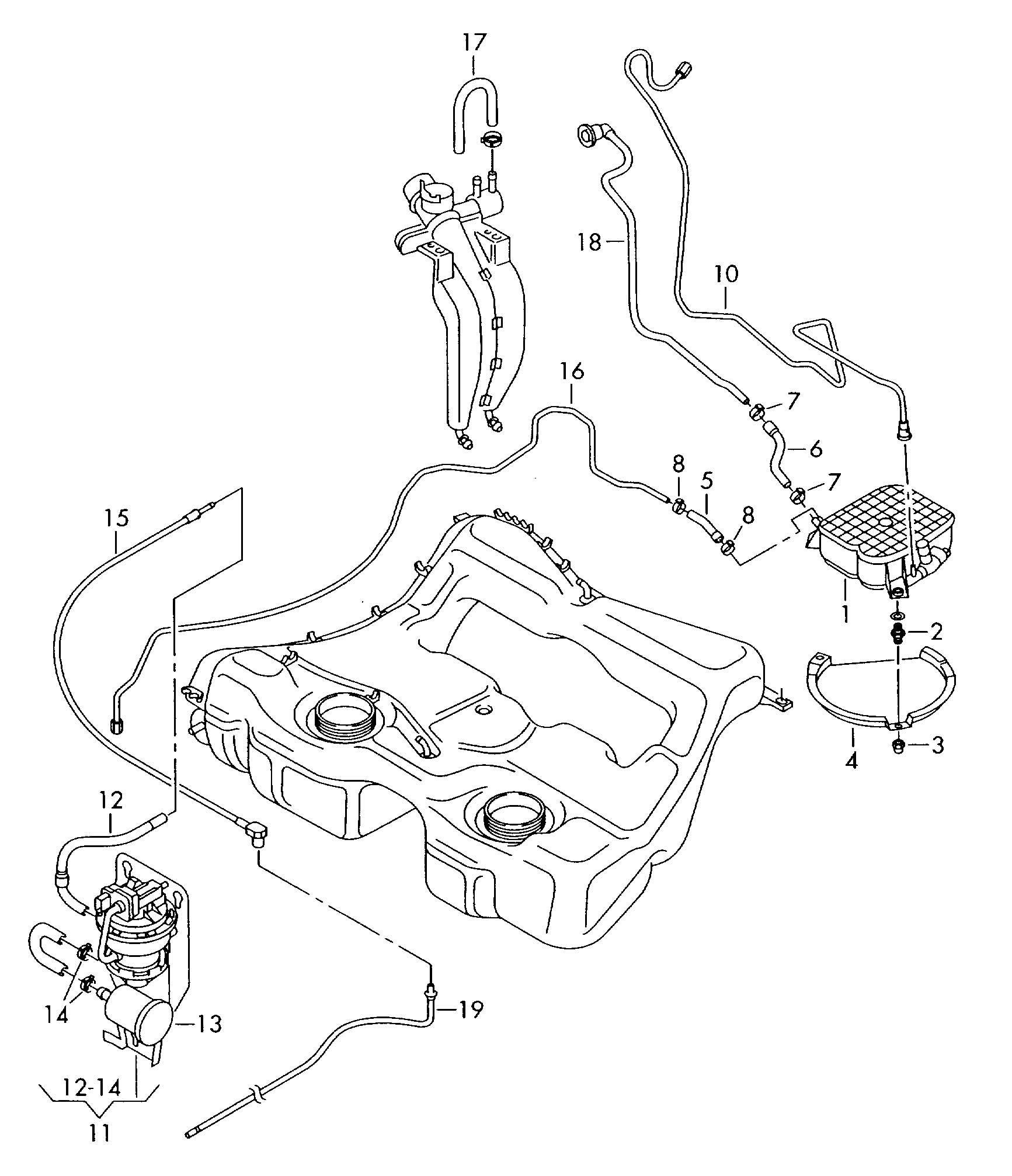 Volkswagen R32 Evaporative Emission Canister Leak